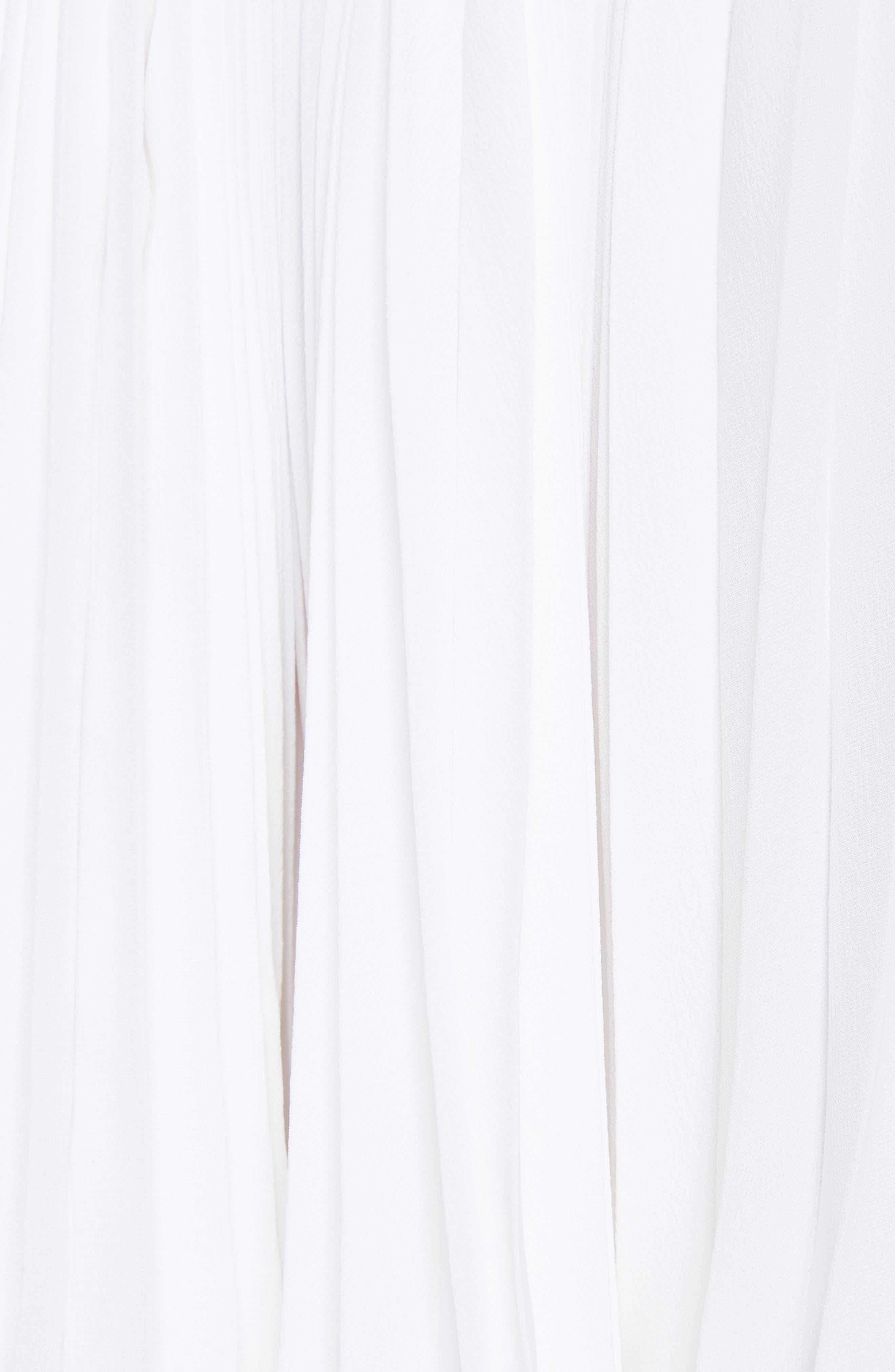 VINCE,                             Multi Pleat Skirt,                             Alternate thumbnail 5, color,                             137
