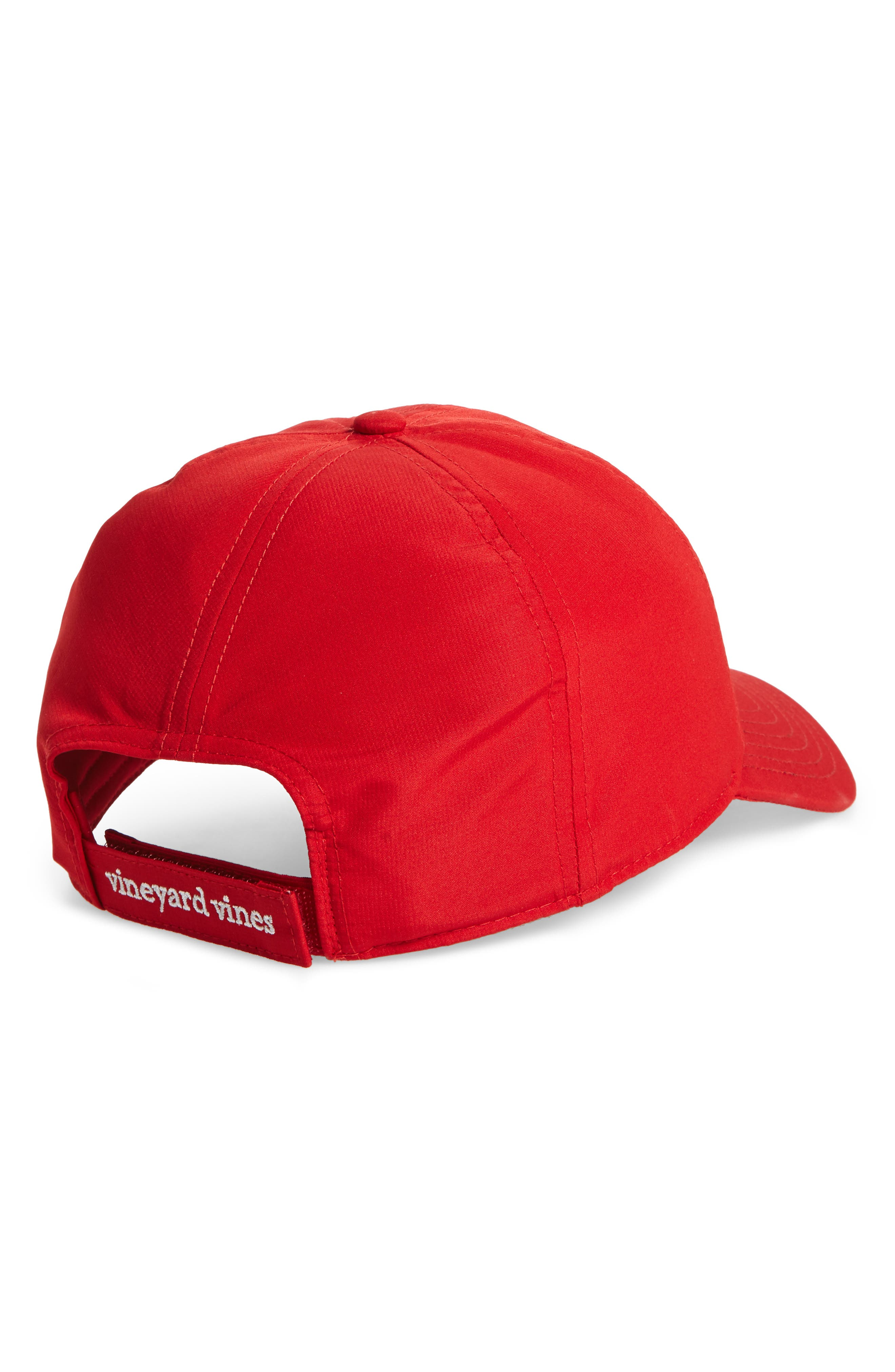 Perf Classic Woven Whale Ball Cap,                             Alternate thumbnail 6, color,