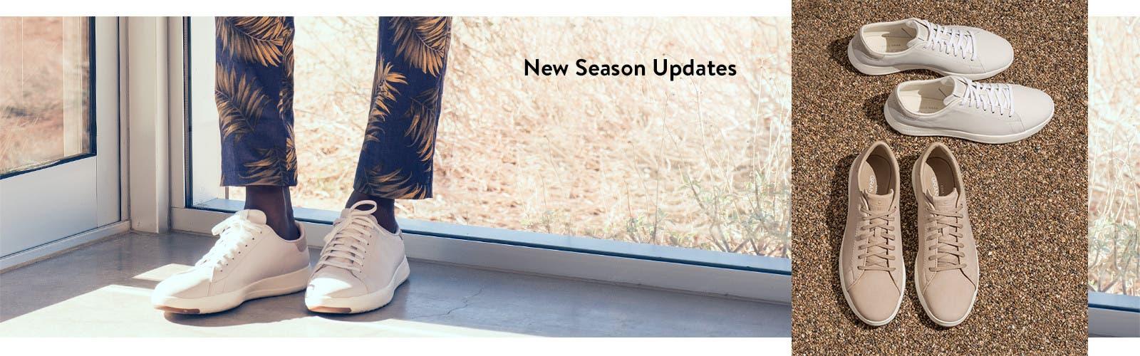 New season updates.