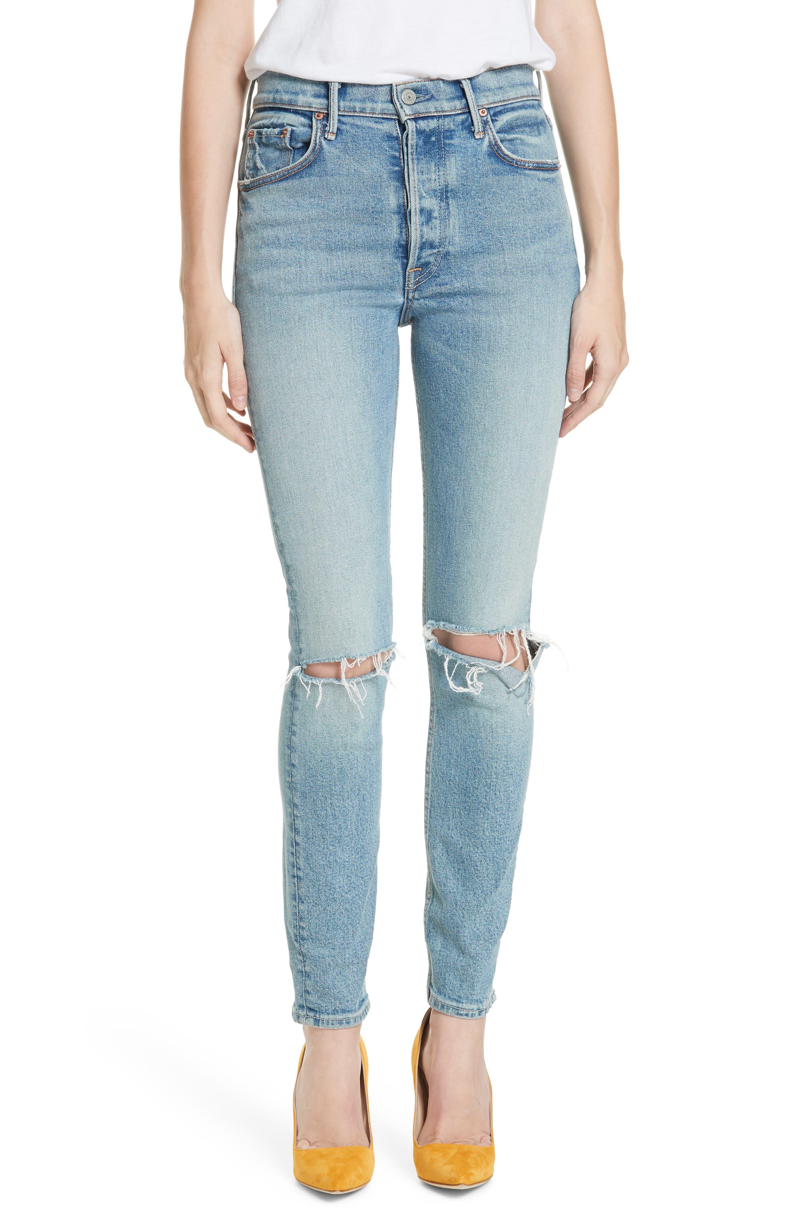 Women's Grlfrnd Karolina High Waist Jeans