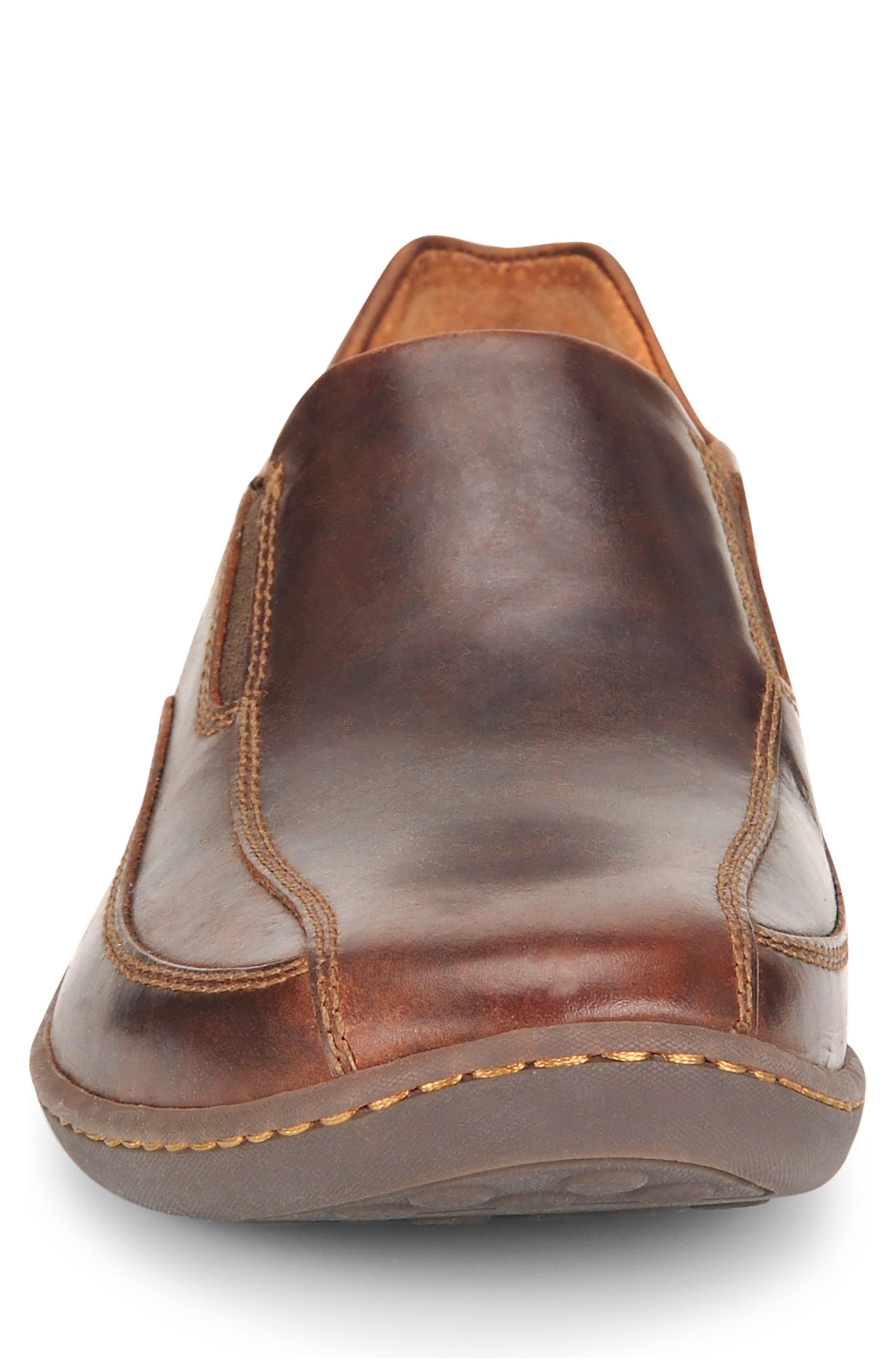 Baker Bike Toe Slip-On,                             Alternate thumbnail 4, color,                             TAN