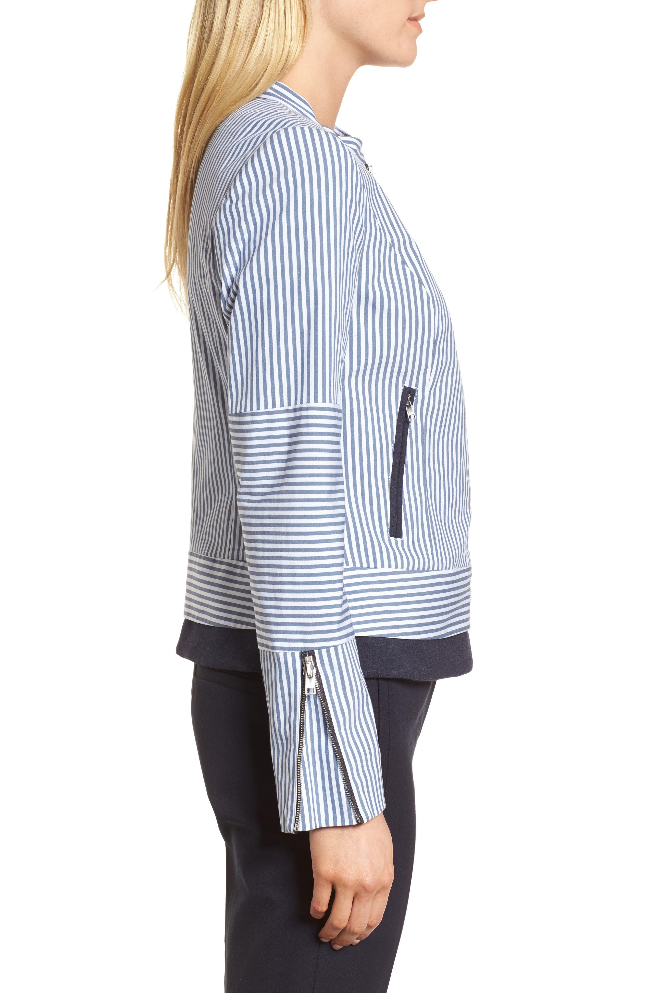 Stripe Jacket,                             Alternate thumbnail 3, color,                             410
