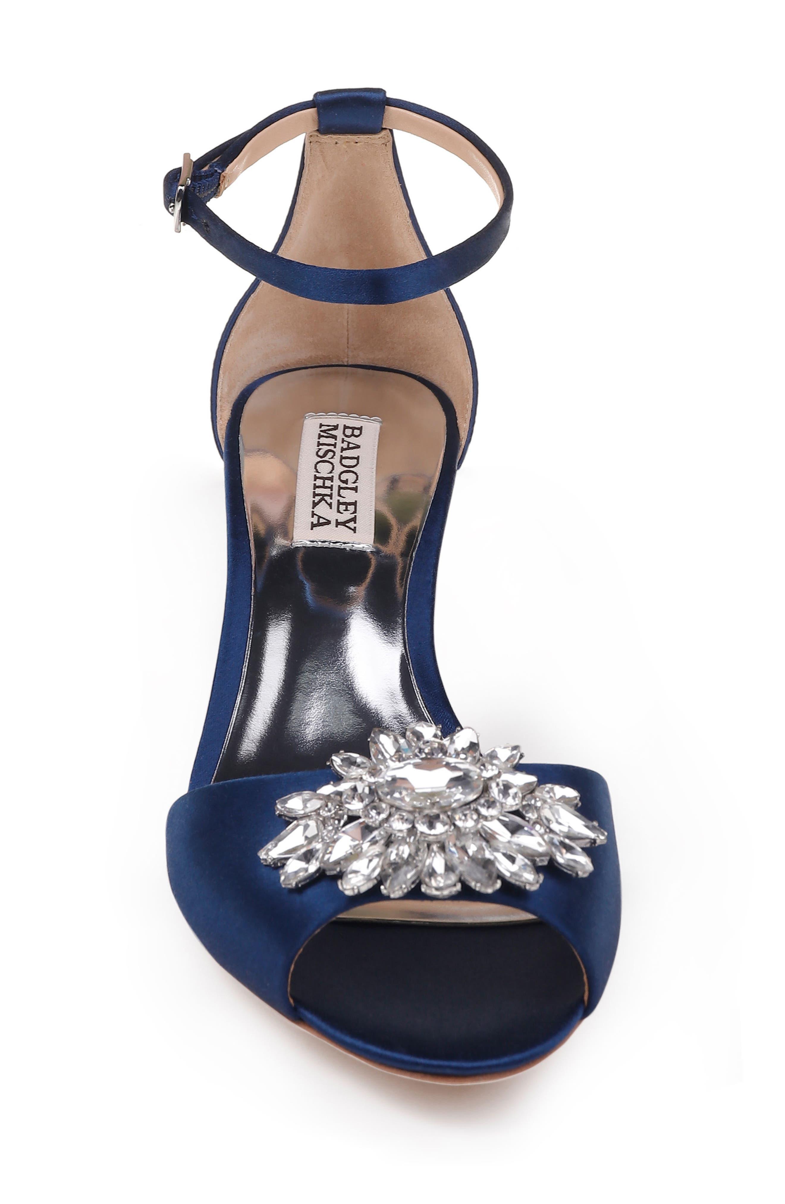 Sainte Crystal Embellished Sandal,                             Alternate thumbnail 18, color,