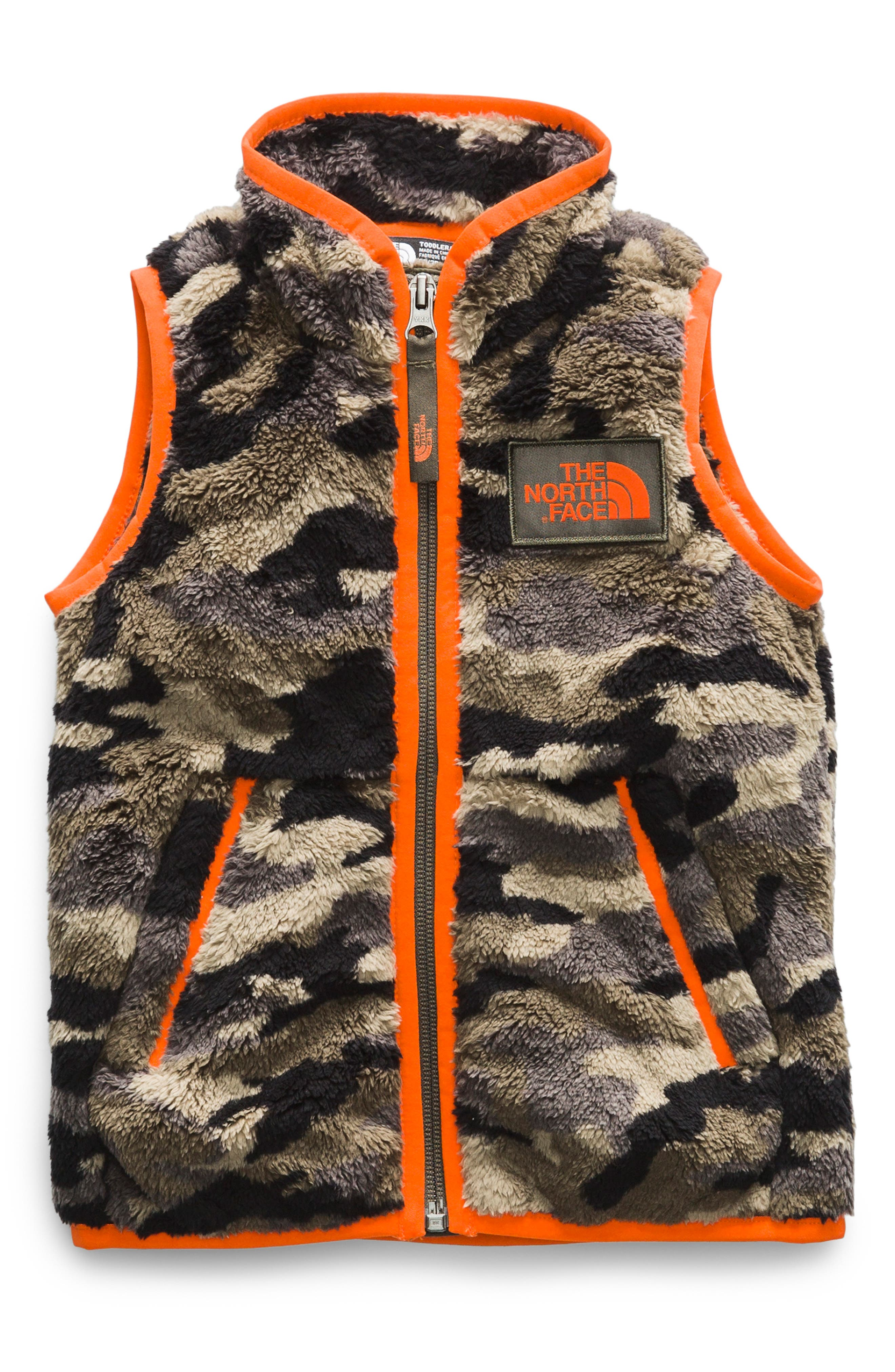Campshire Vest,                         Main,                         color, TAUPE GREEN GRANDE CAMOUFLAGE