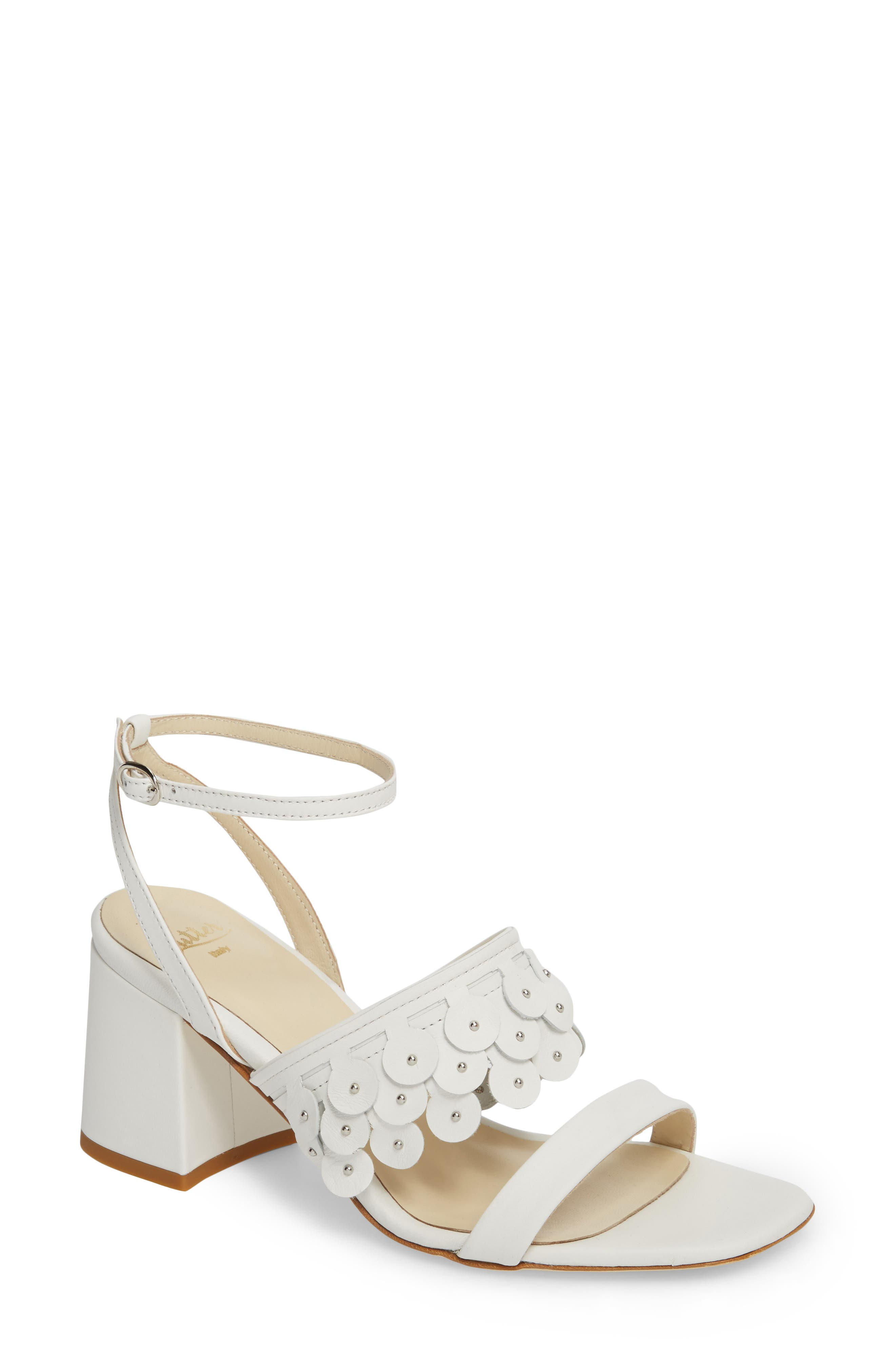 Butter Finley Studded Ankle Strap Sandal,                             Main thumbnail 2, color,
