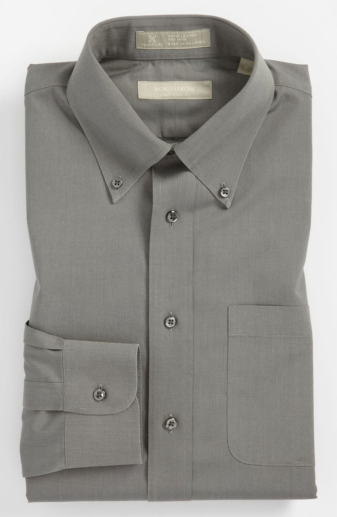 Smartcare<sup>™</sup> Traditional Fit Pinpoint Dress Shirt,                             Main thumbnail 10, color,