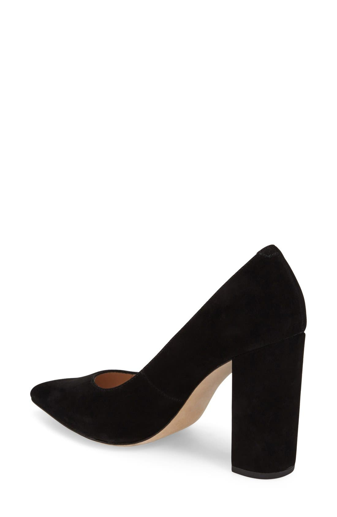 'Celina' Pointy Toe Pump,                             Alternate thumbnail 7, color,