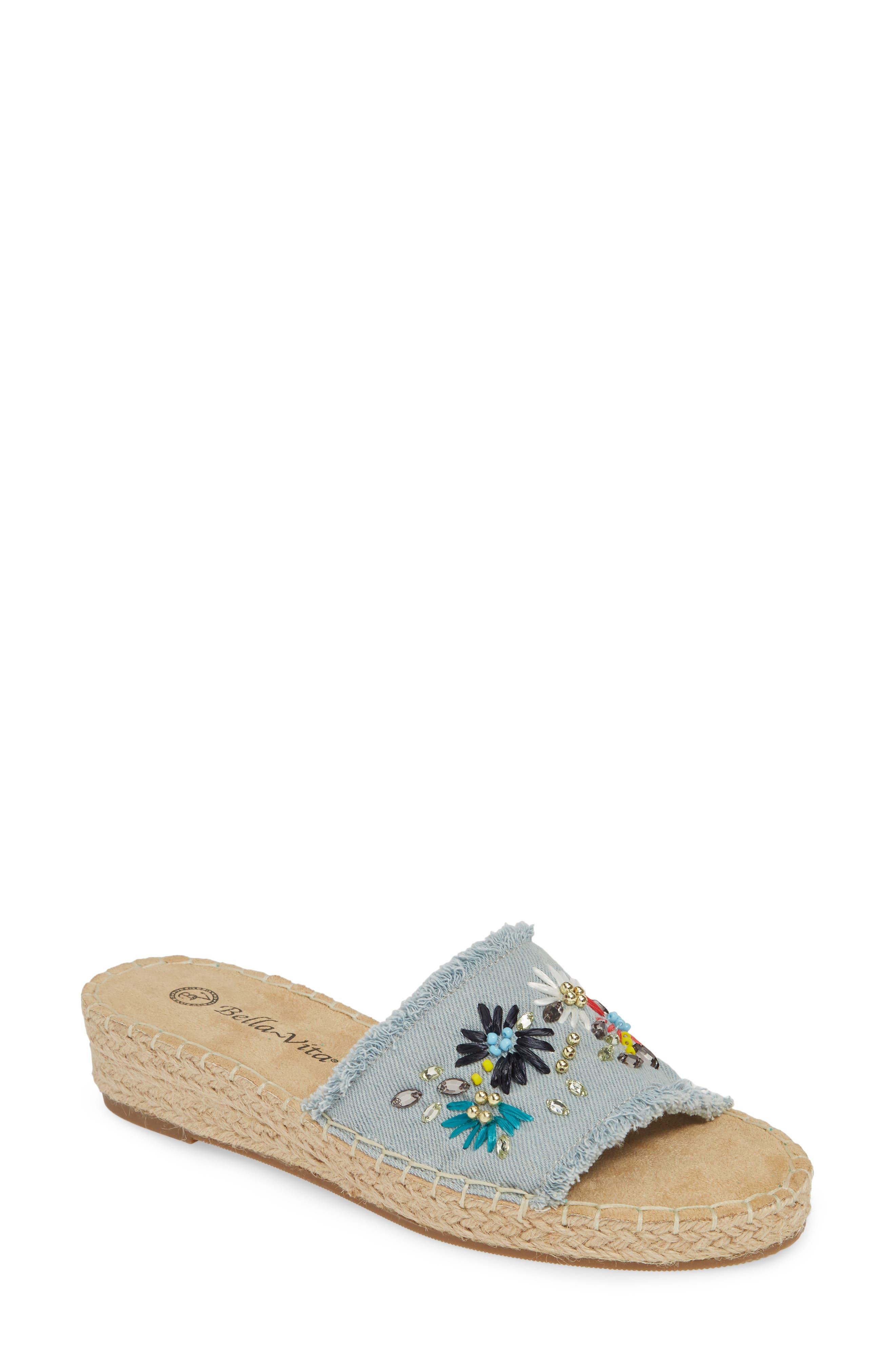 994a298b8a7 Bella Vita Cher Ii Slide Sandal W - Blue