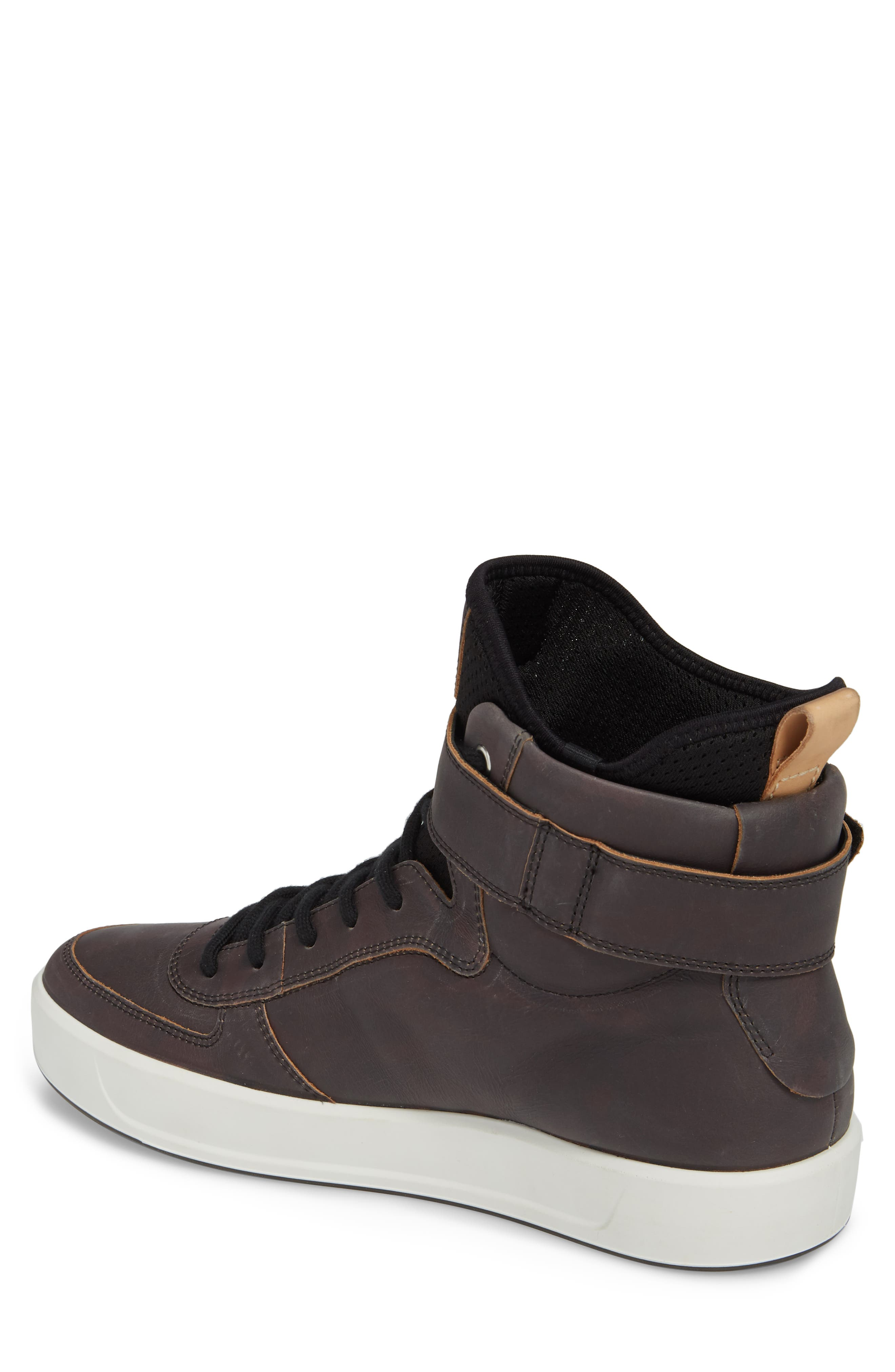 ECCO,                             Soft 8 Color Changing Sneaker Boot,                             Alternate thumbnail 3, color,                             002