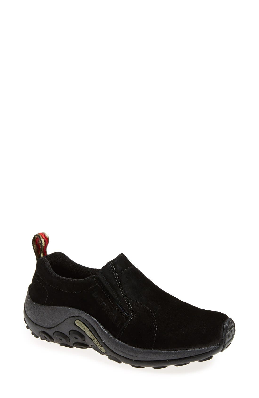 'Jungle Moc' Athletic Slip-On,                         Main,                         color, MIDNIGHT BLACK