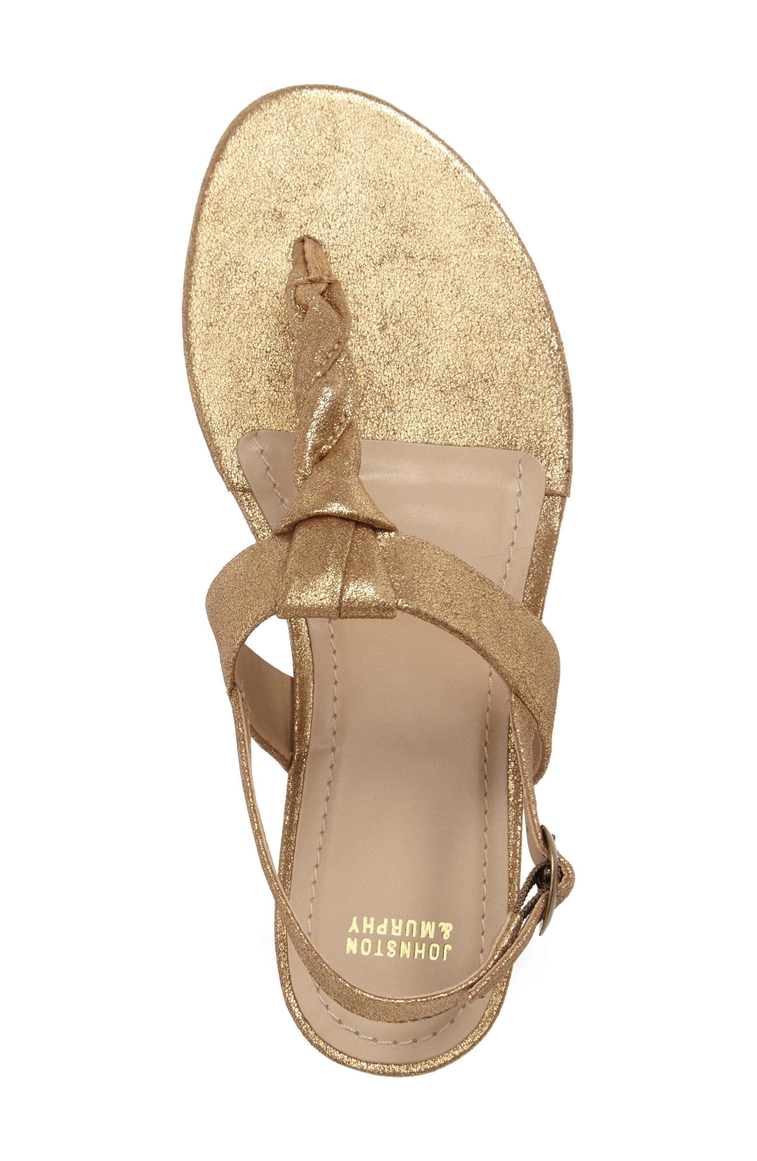 Holly Twisted T-Strap Sandal,                             Alternate thumbnail 25, color,