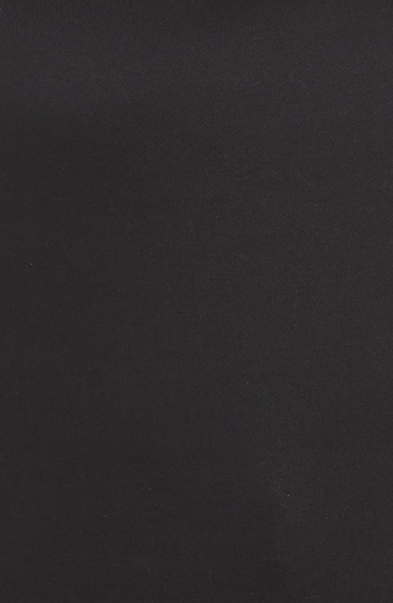 Lace Ruffle Sleeve Off the Shoulder Sweatshirt,                             Alternate thumbnail 6, color,
