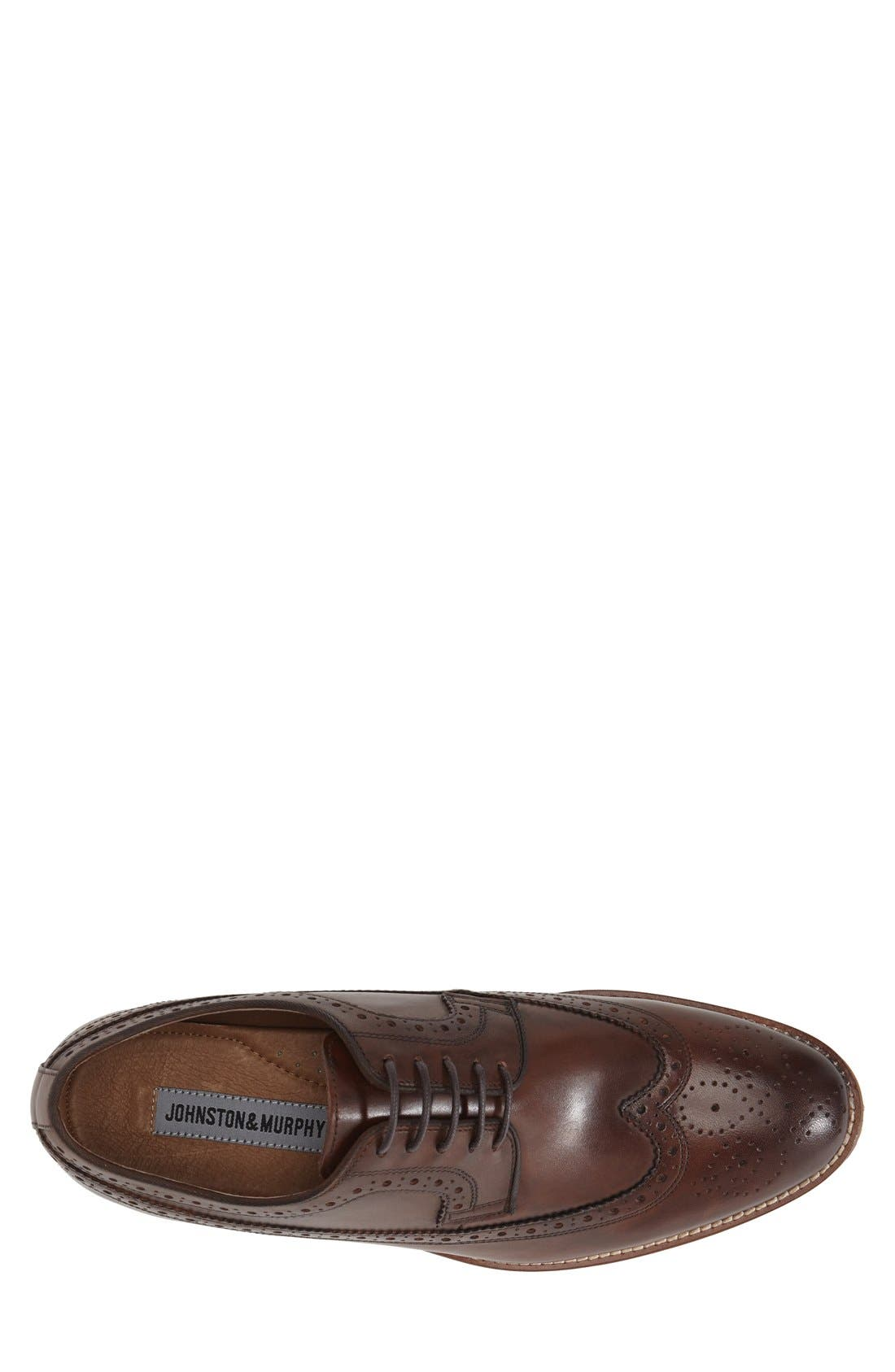Conard Wingtip,                             Alternate thumbnail 3, color,                             MAHOGANY