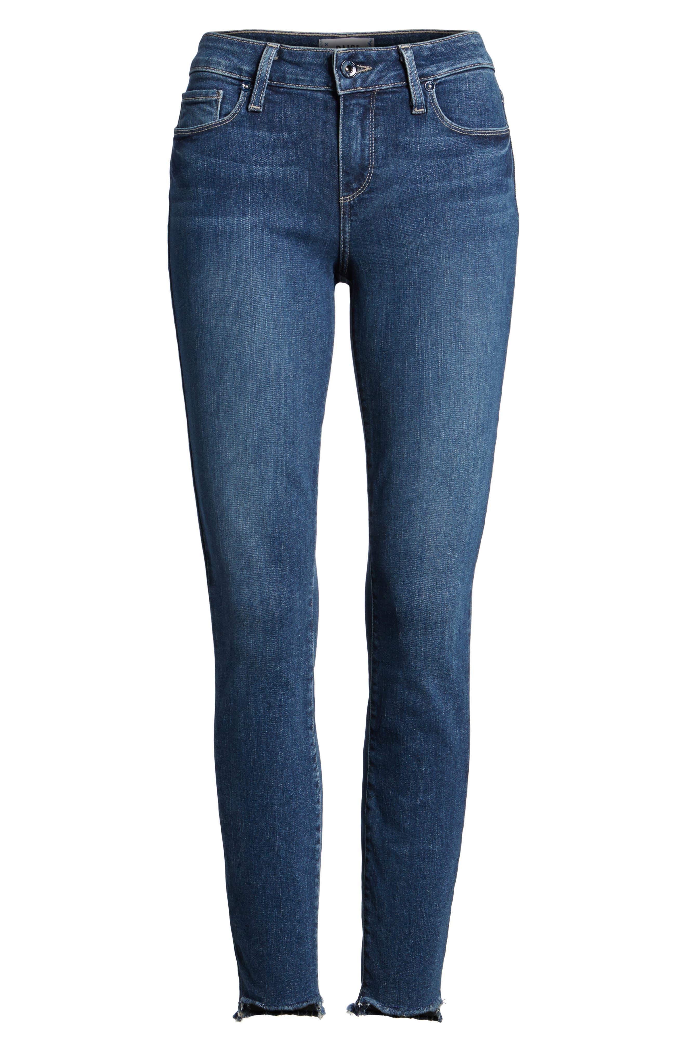 Legacy - Verdugo Step Hem Skinny Jeans,                             Alternate thumbnail 5, color,                             400