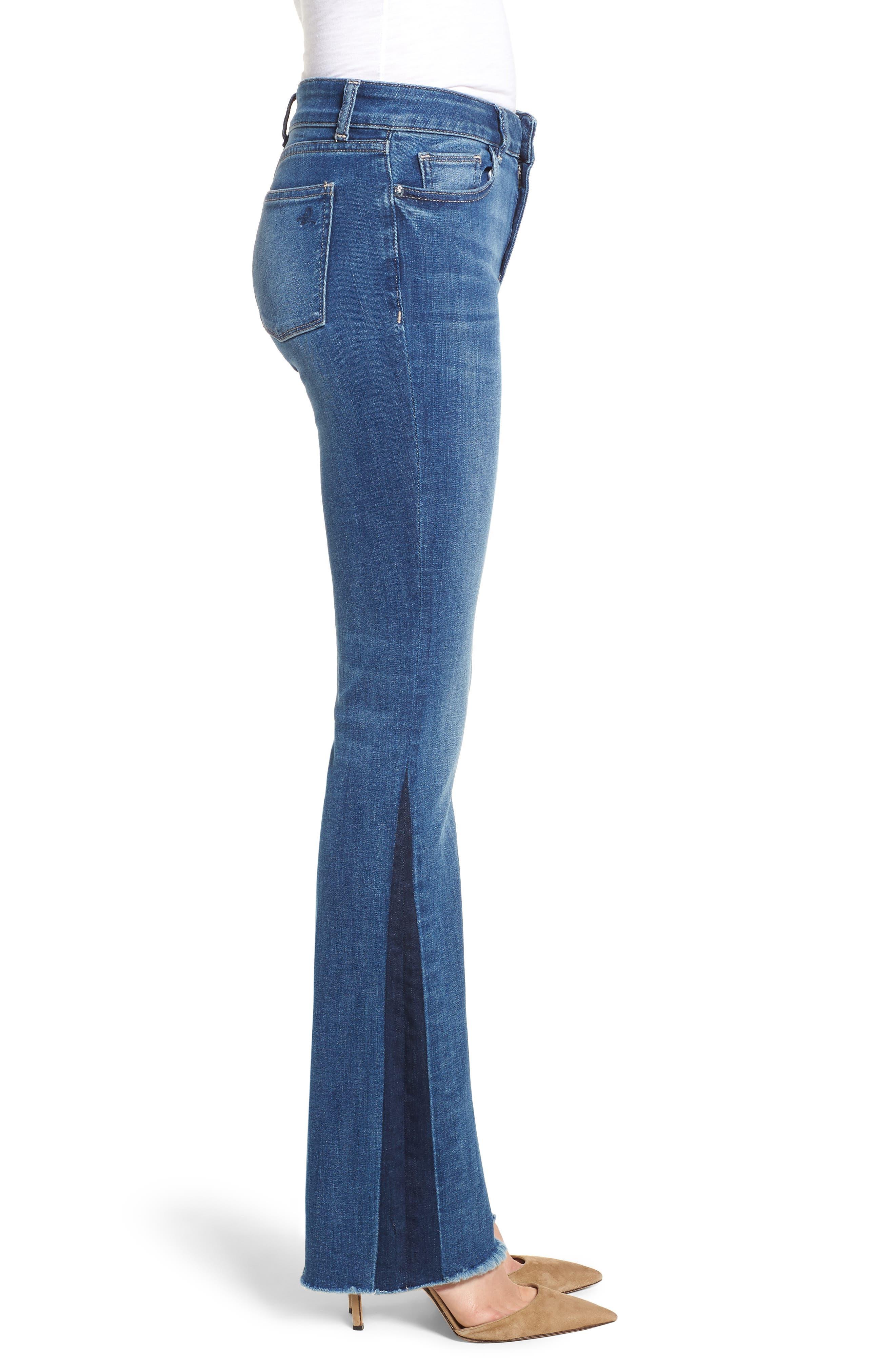 Bridget Instasculpt Bootcut Jeans,                             Alternate thumbnail 3, color,                             425