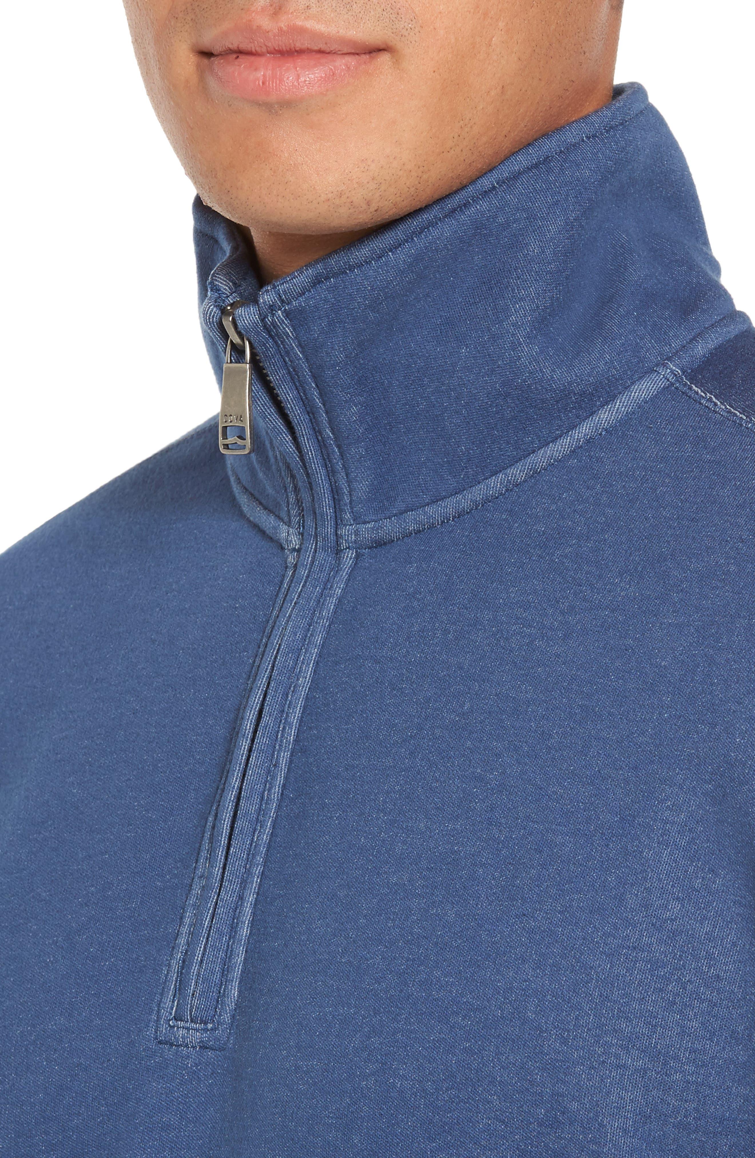 Upper Deck Half Zip Pullover,                             Alternate thumbnail 4, color,                             410