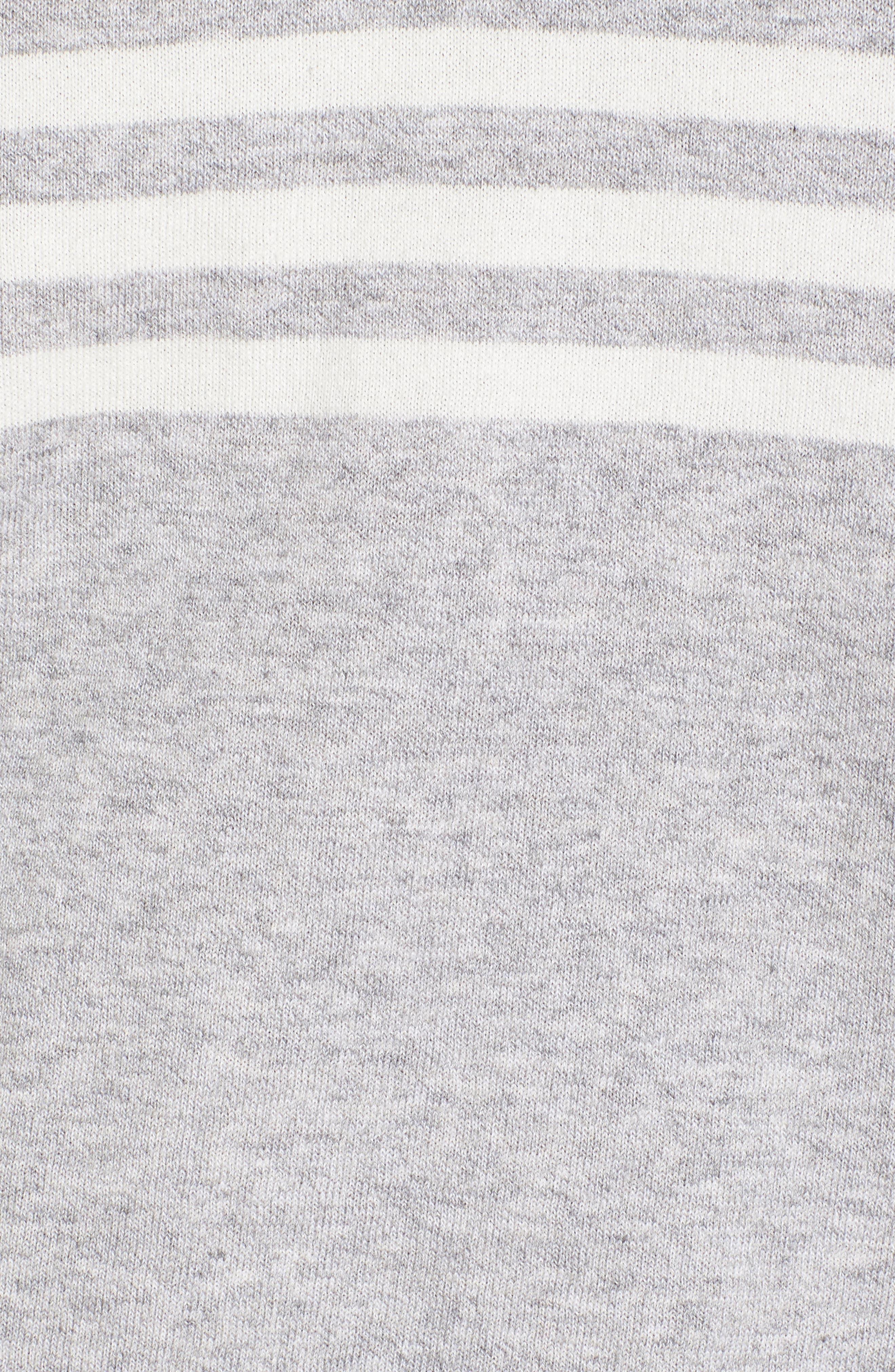 Stripe Sweater,                             Alternate thumbnail 5, color,                             020