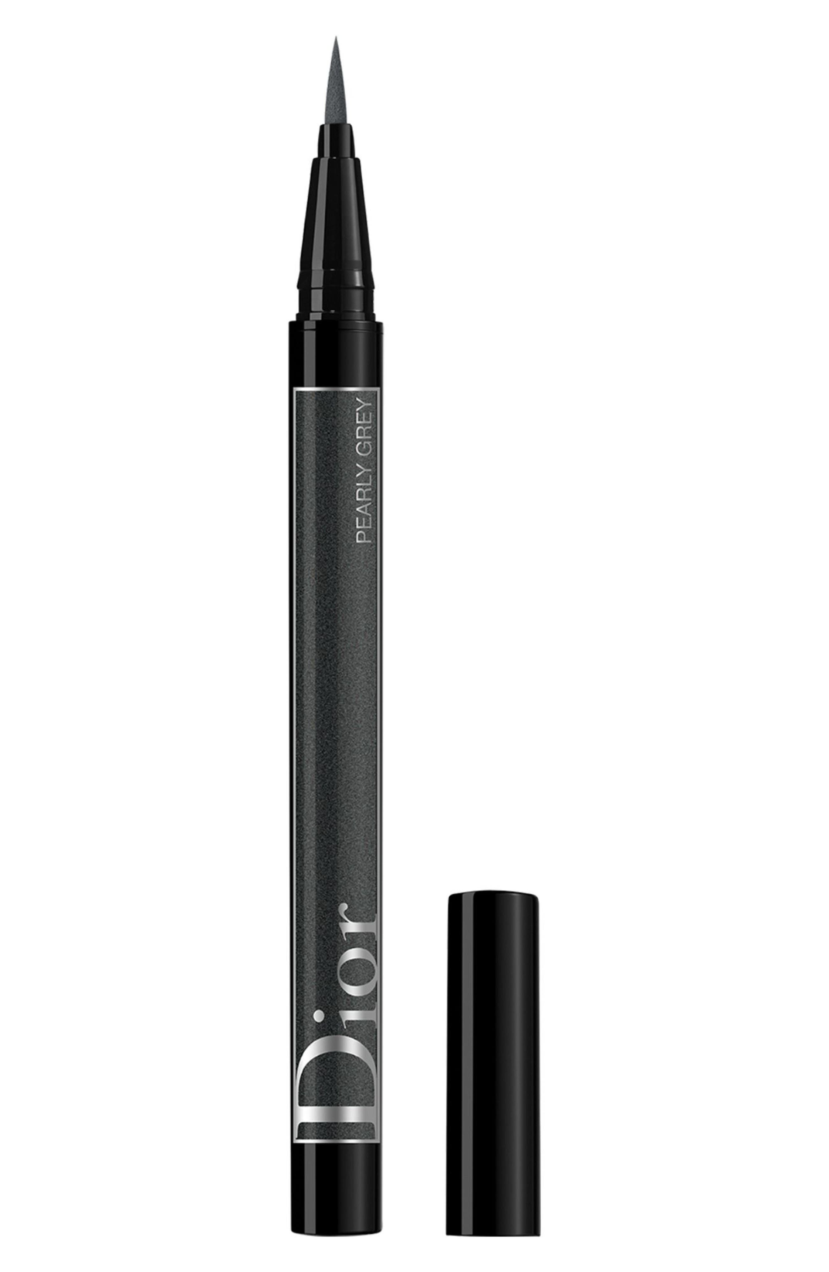 DIOR,                             Diorshow On Stage Eyeliner,                             Main thumbnail 1, color,                             076 PEARLY BLACK