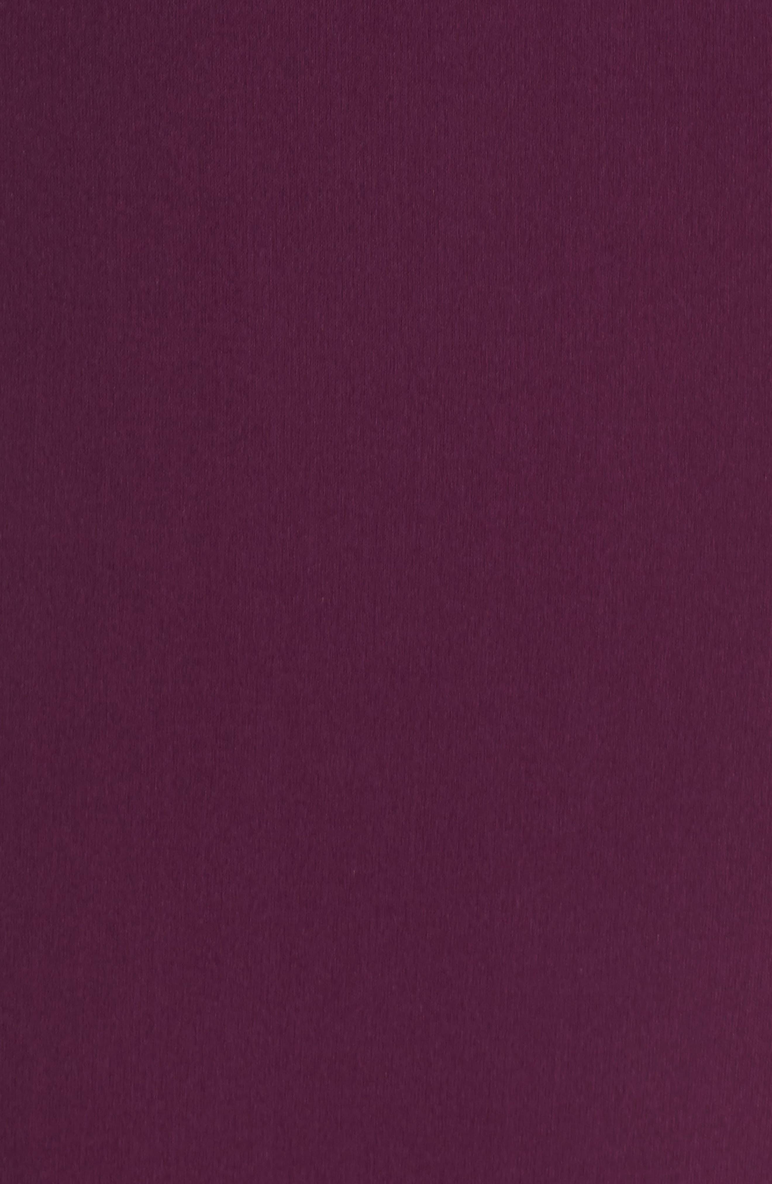 Belted Crepe Sheath Dress,                             Alternate thumbnail 6, color,                             606