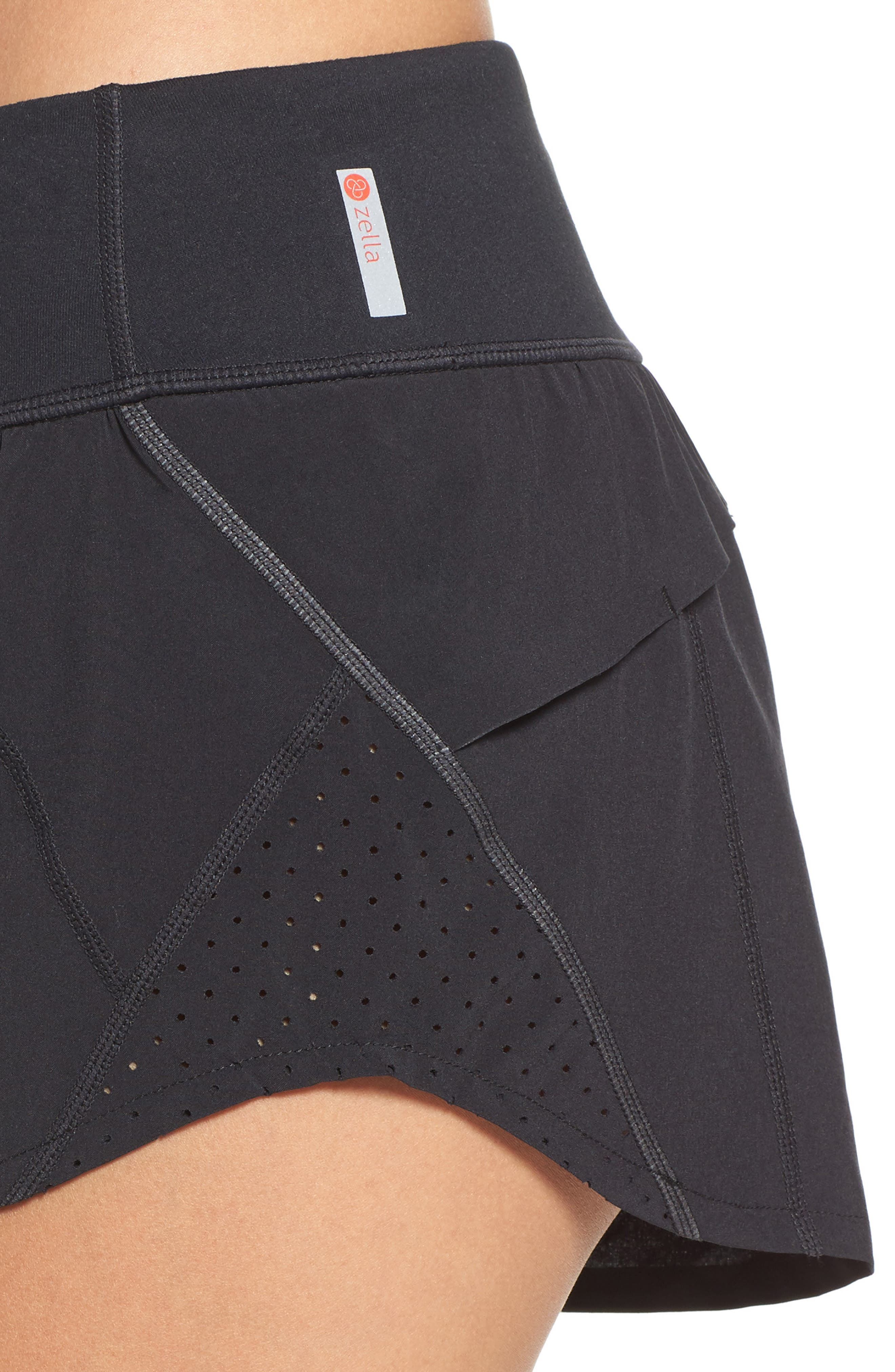 Runaround Compact Shorts,                             Alternate thumbnail 4, color,                             001