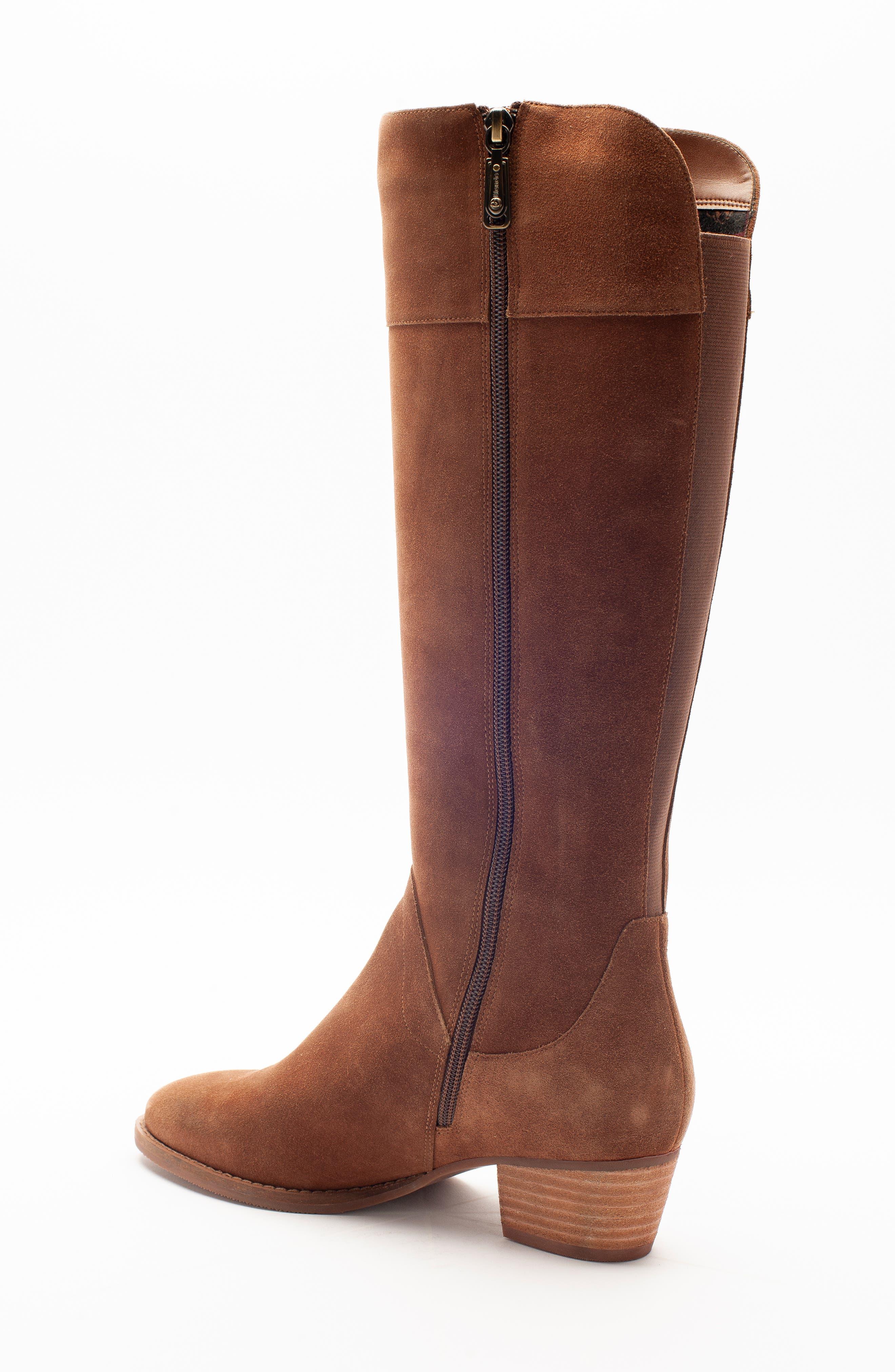 Nestle Waterproof Knee High Boot,                             Alternate thumbnail 4, color,