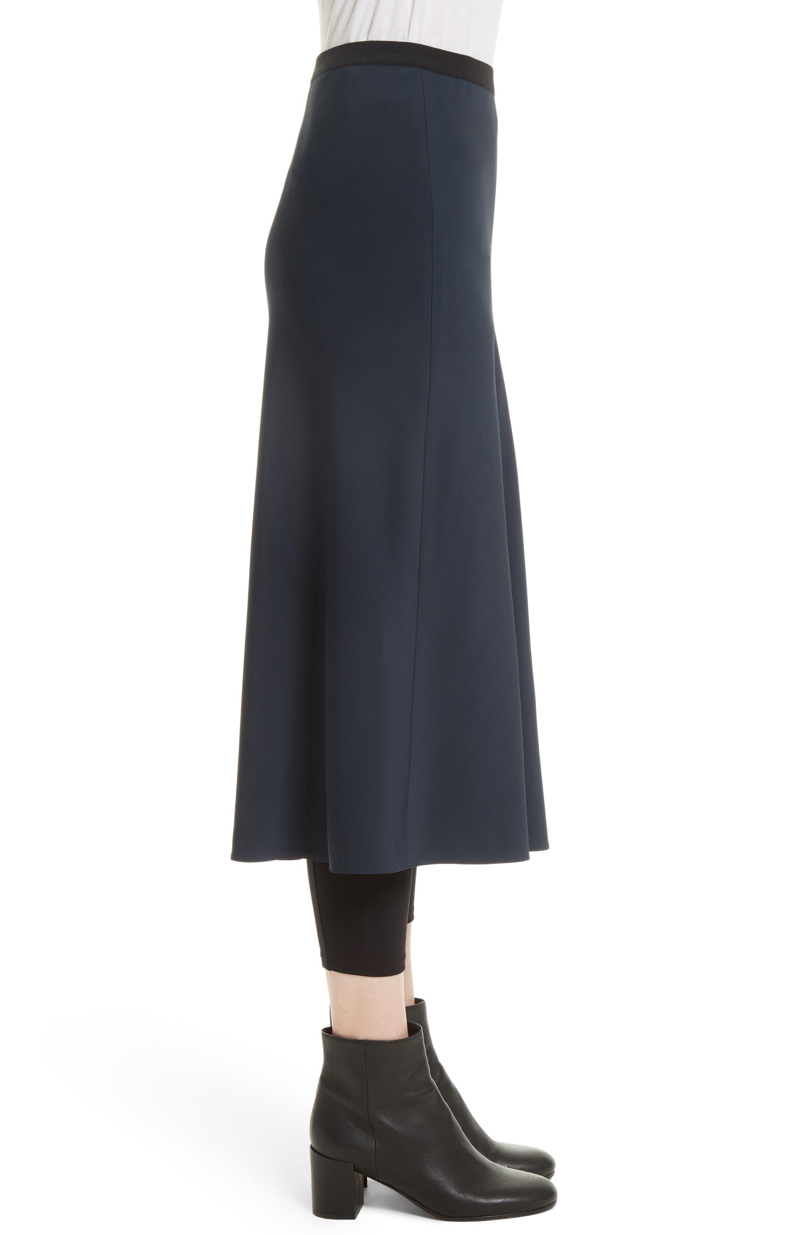 Elastic Waist Slip Skirt,                             Alternate thumbnail 3, color,                             403