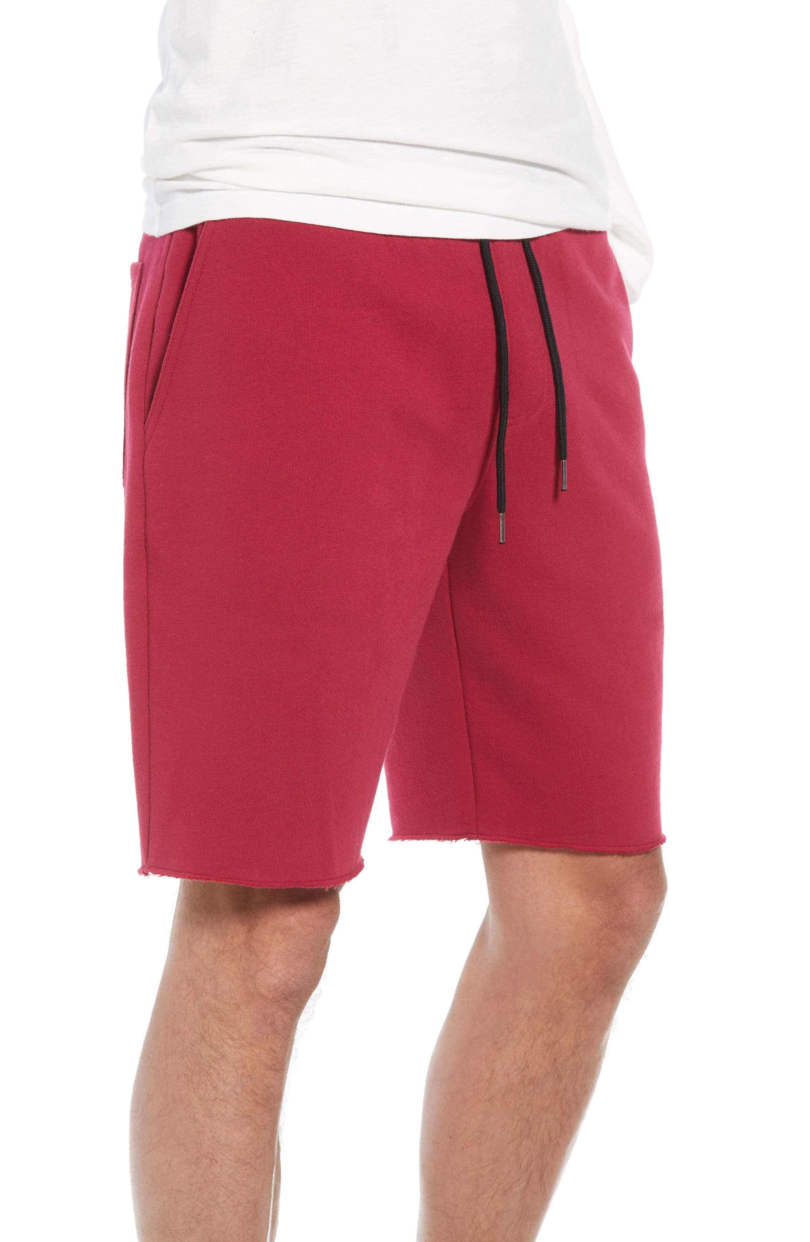 THE RAIL,                             Fleece Shorts,                             Alternate thumbnail 3, color,                             601