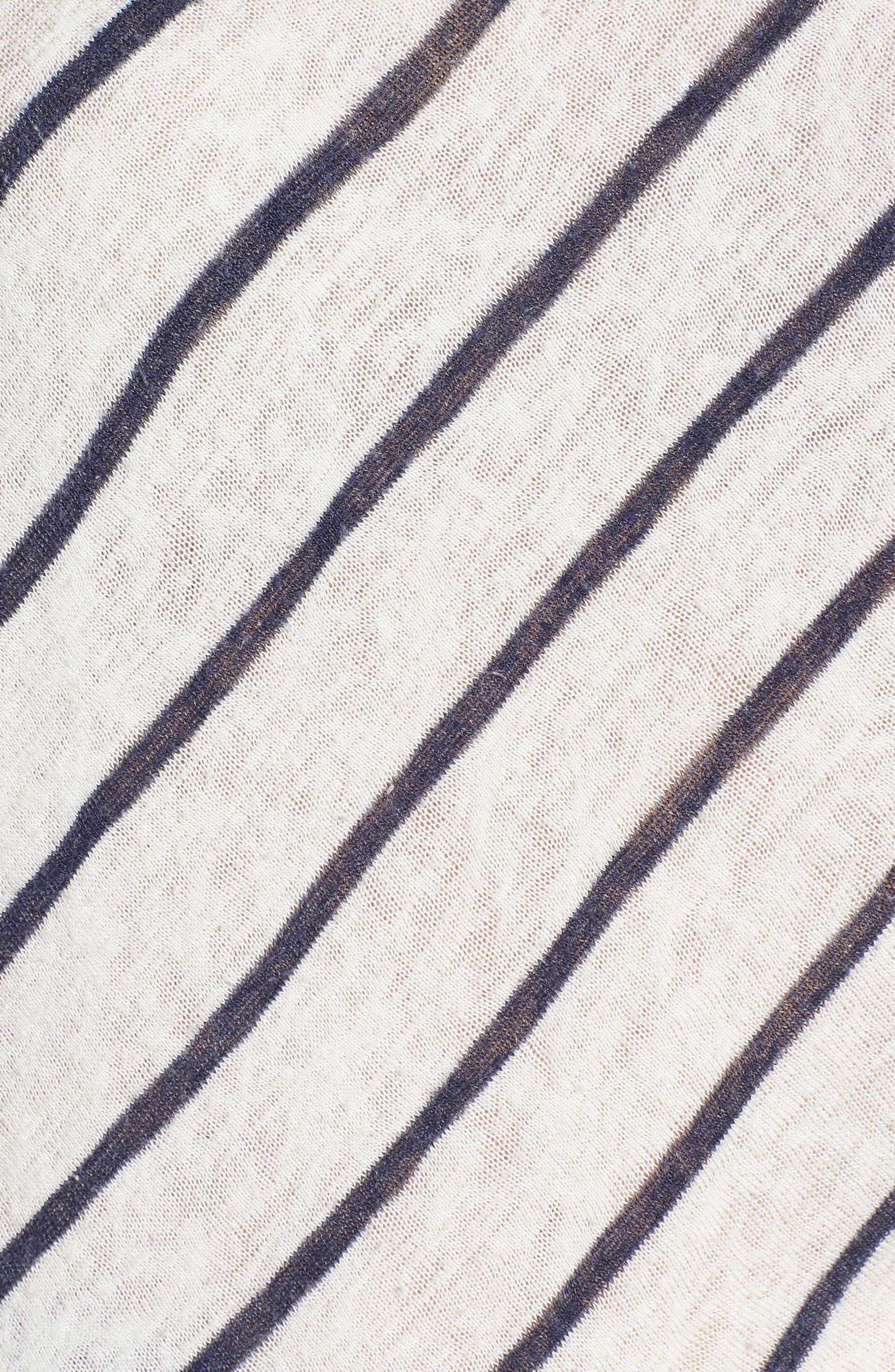 Stripe Dolman Sleeve Top,                             Alternate thumbnail 6, color,                             195