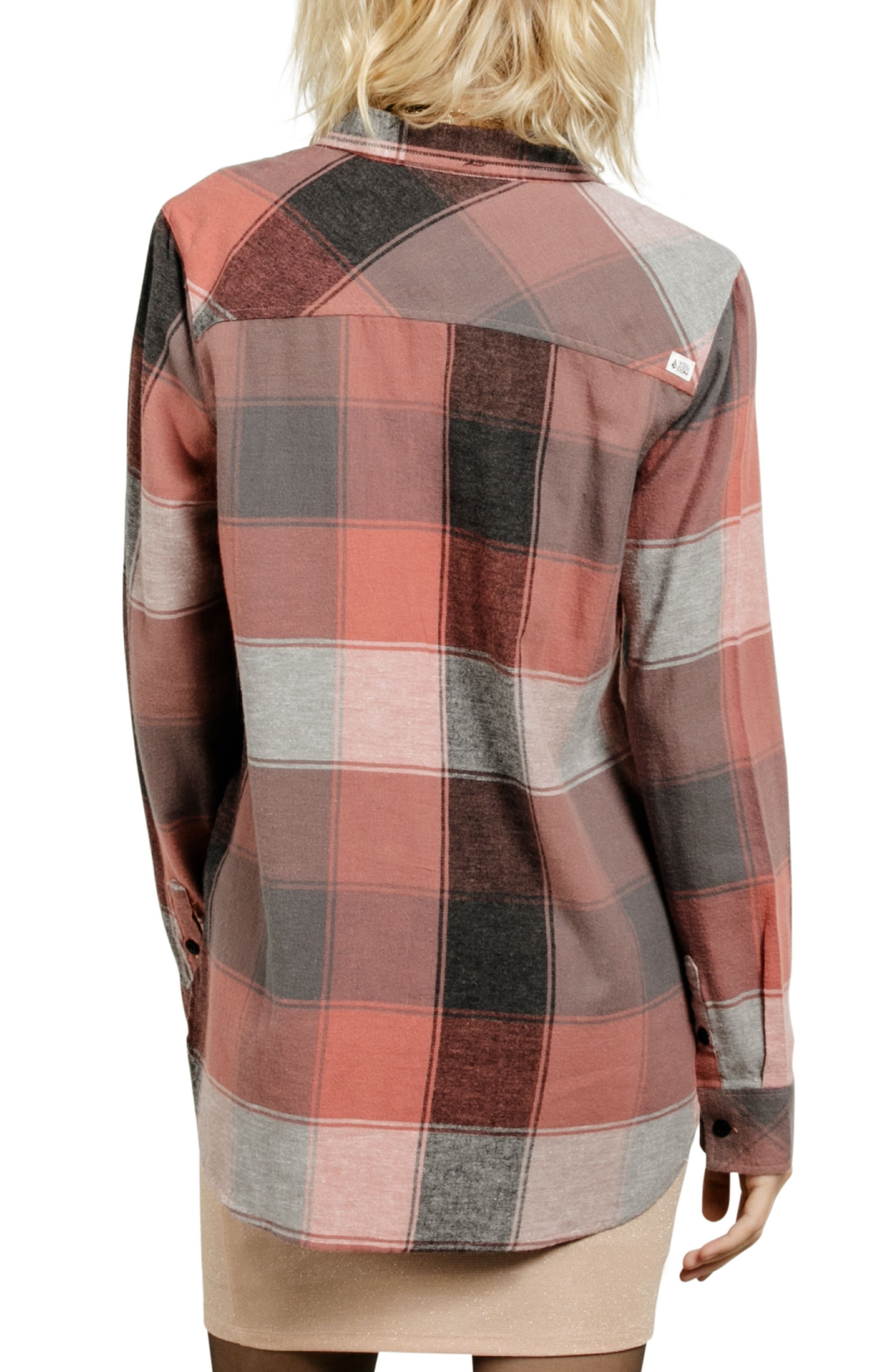 Fly High Flannel Top,                             Alternate thumbnail 6, color,