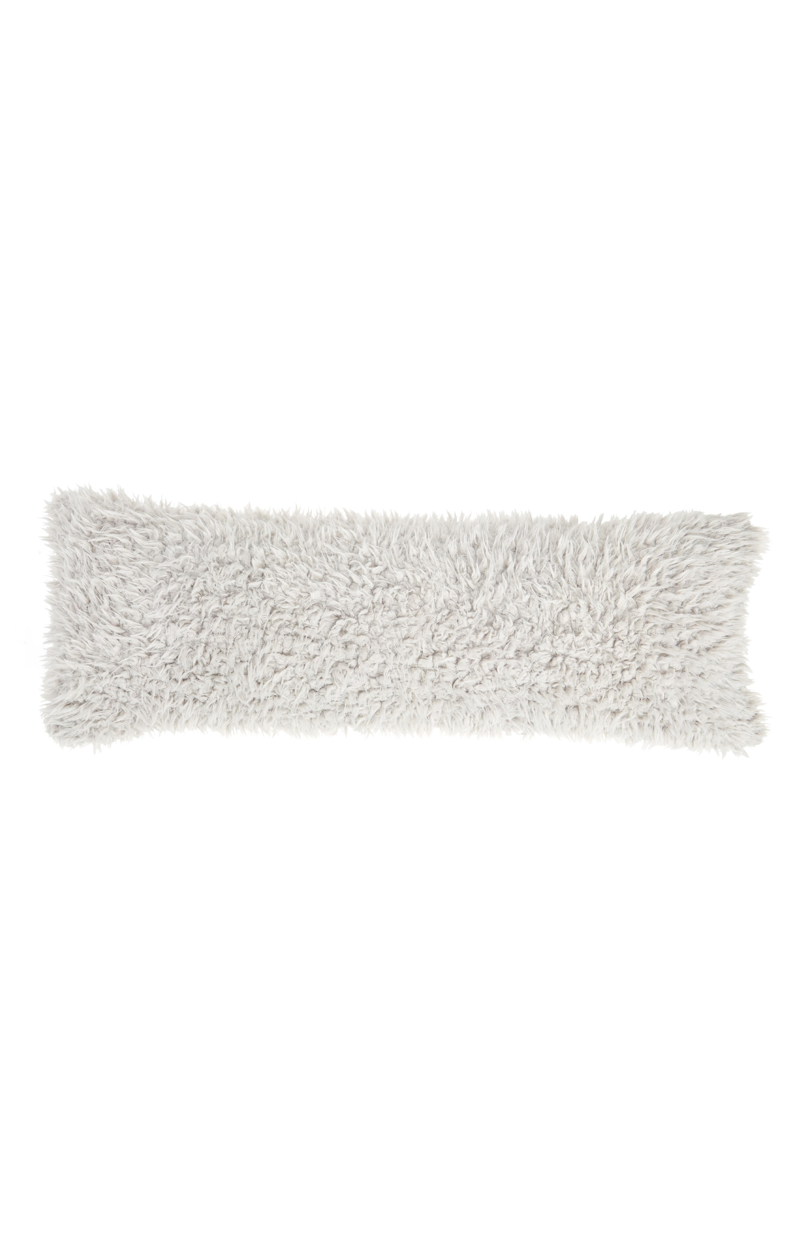 Shaggy Faux Fur Pillow,                             Main thumbnail 1, color,                             020