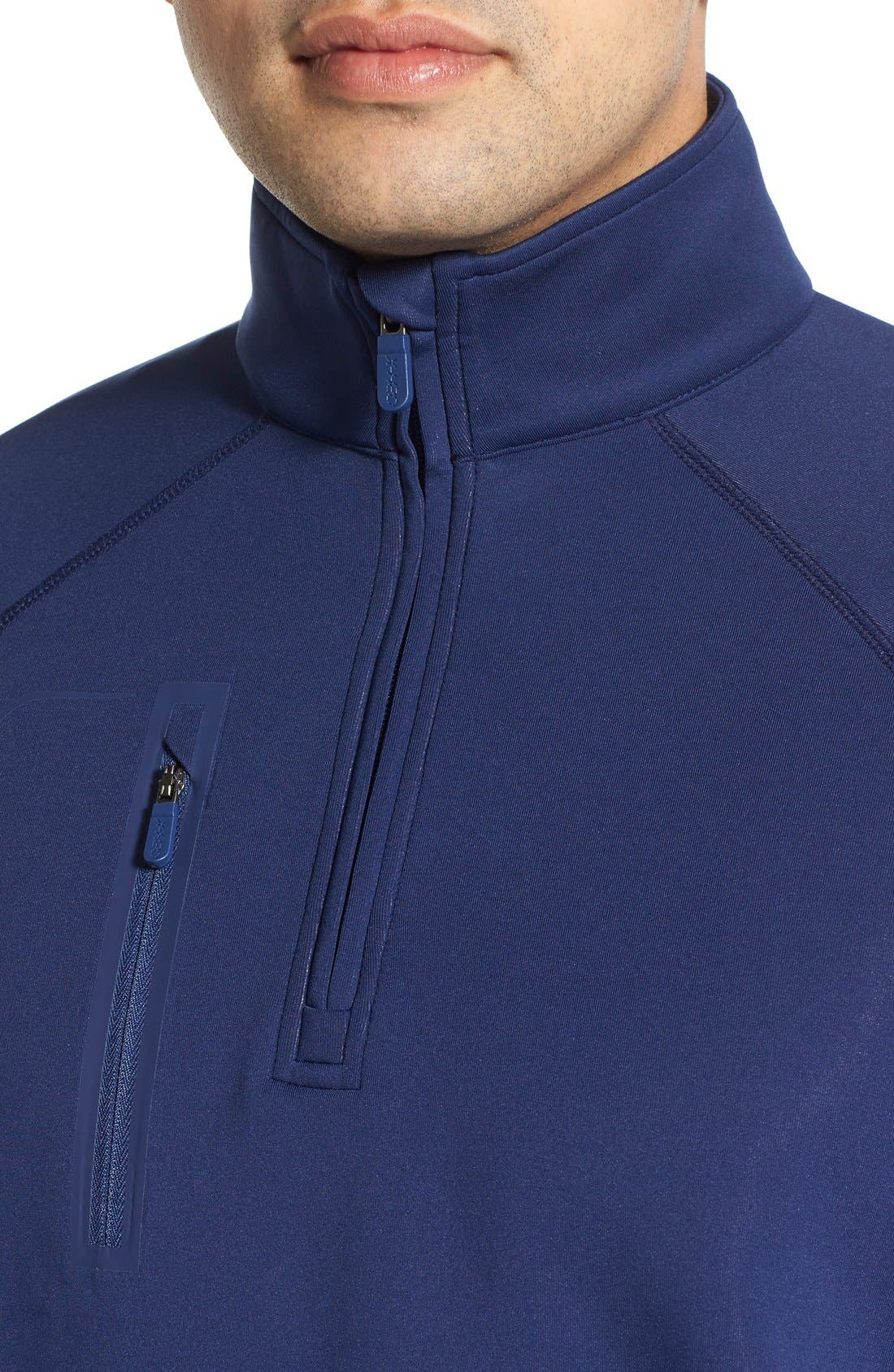 XH2O Crawford Stretch Quarter Zip Golf Pullover,                             Alternate thumbnail 48, color,