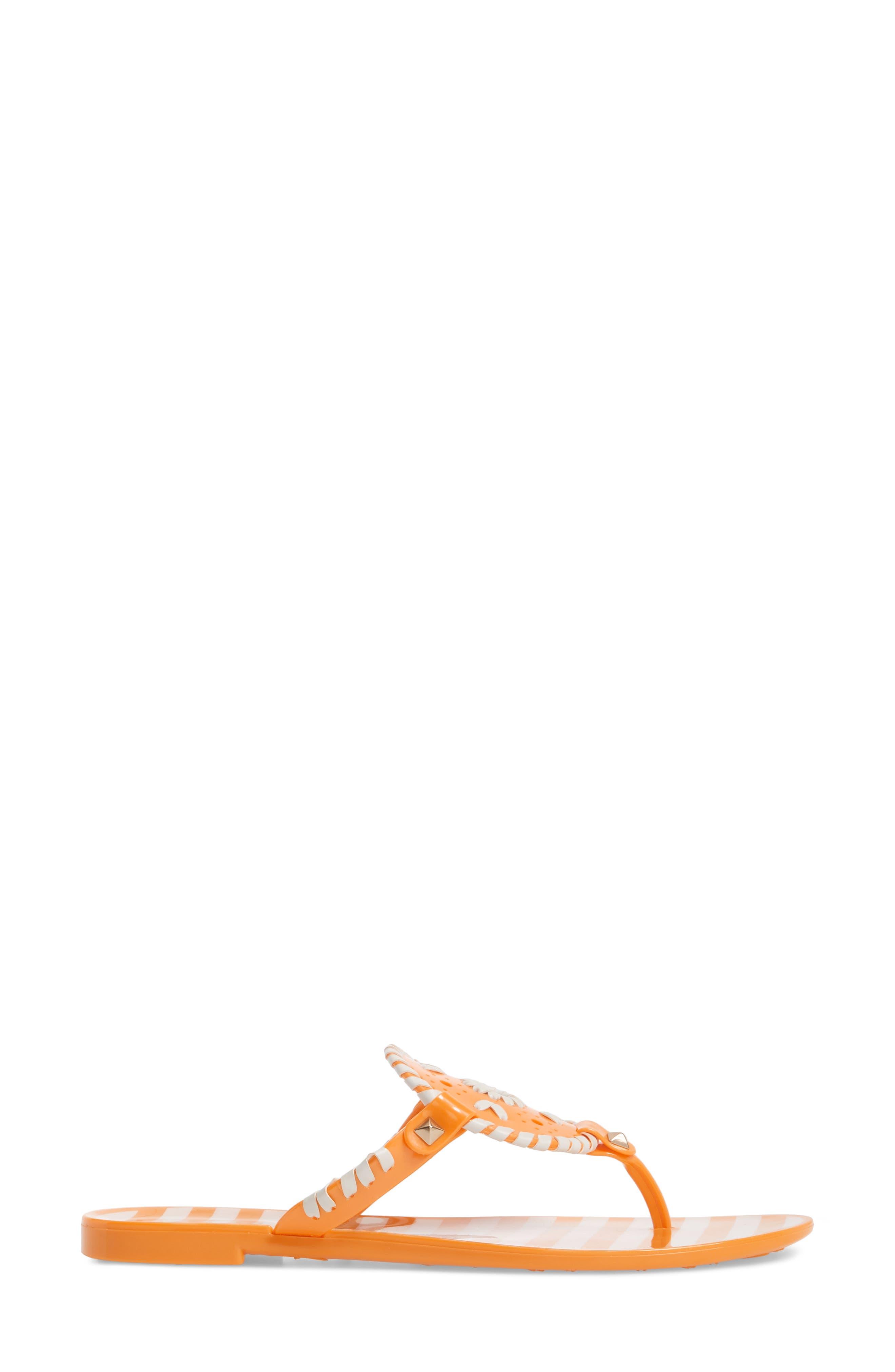 'Georgica' Jelly Flip Flop,                             Alternate thumbnail 96, color,