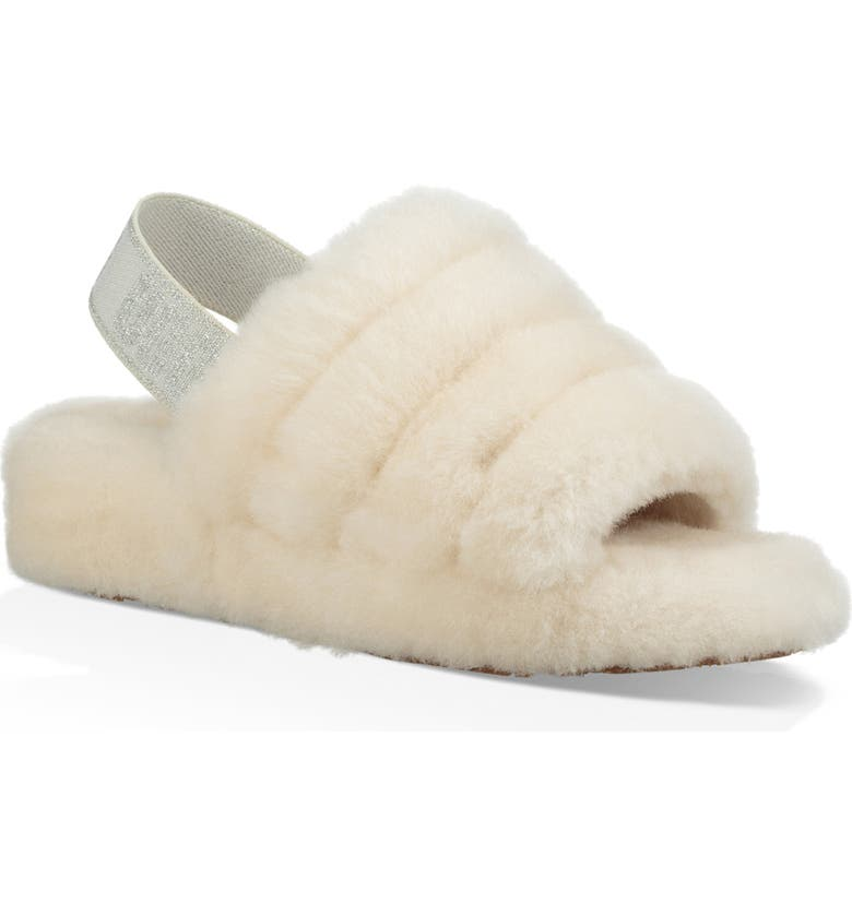 Check Prices UGG Fluff Yeah Genuine Shearling Slipper (Women) Reviews