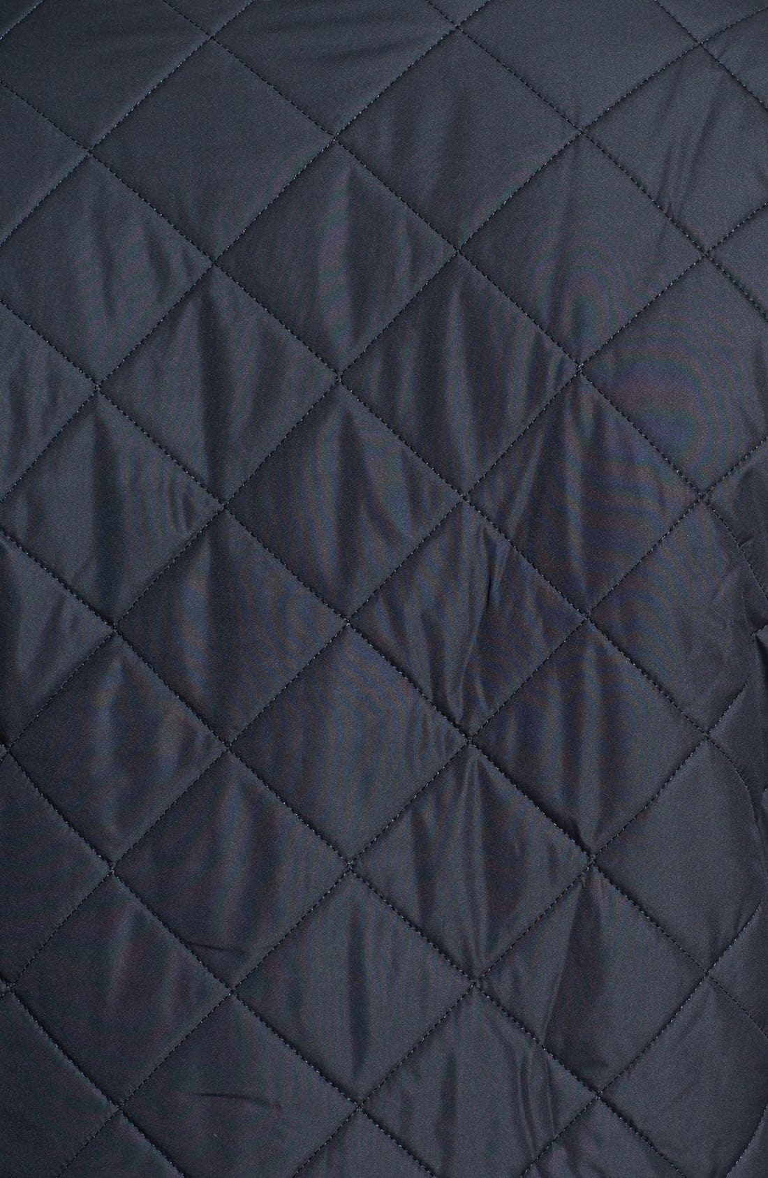 'Powell' Quilted Jacket,                             Alternate thumbnail 3, color,                             NAVY