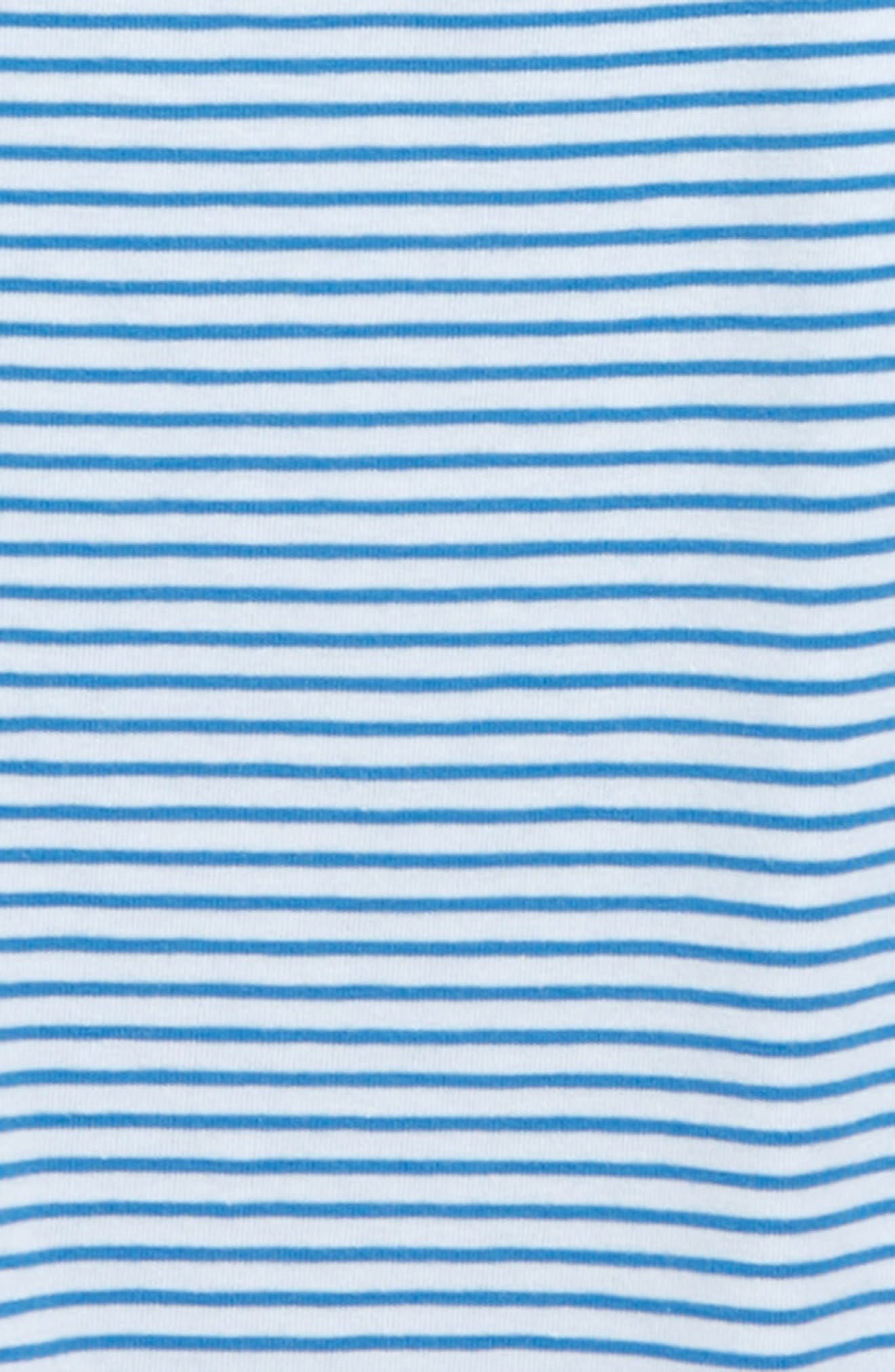 Edgartown Stripe Polo,                             Alternate thumbnail 2, color,                             HULL BLUE