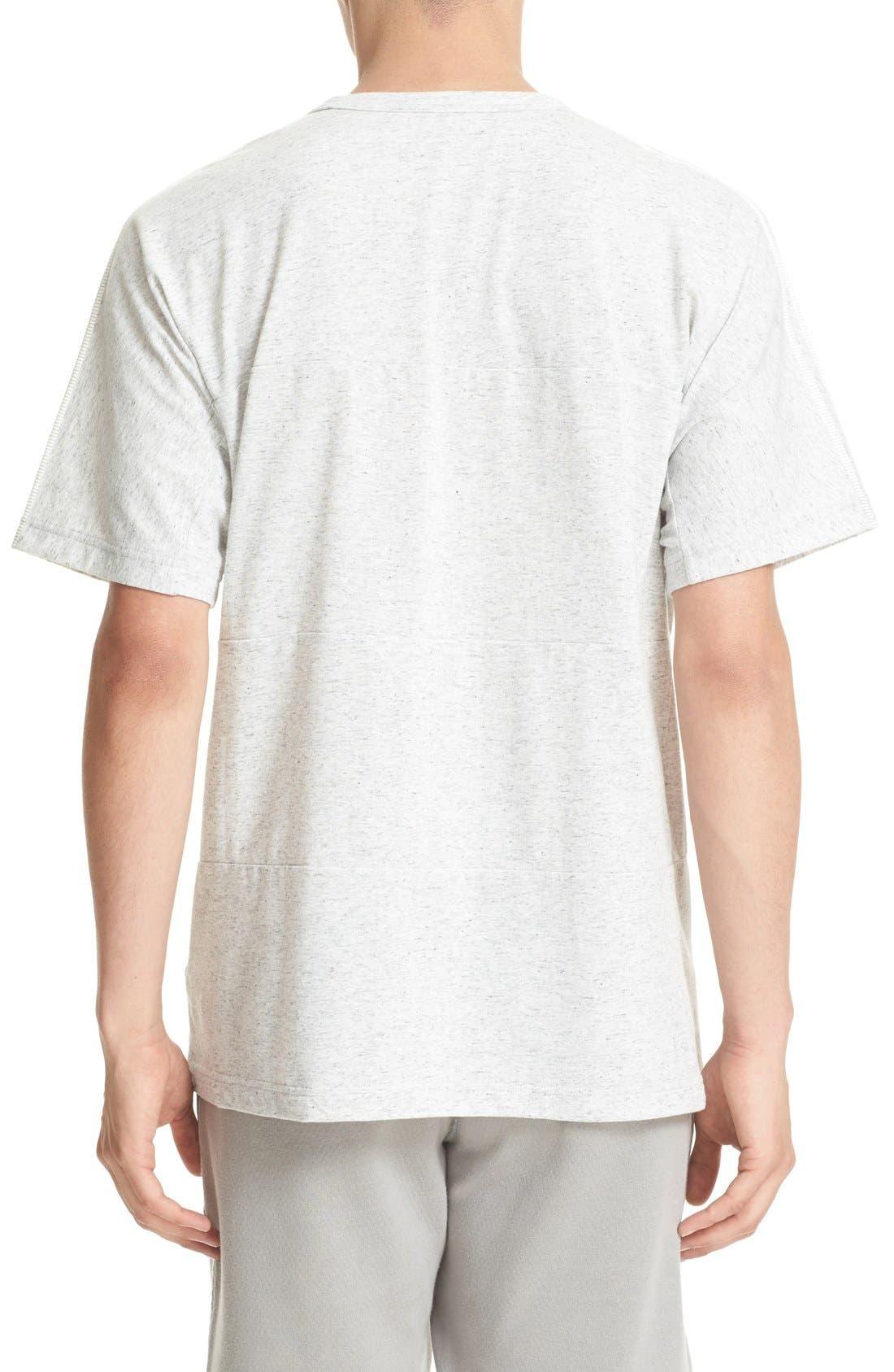 Cotton Blend T-Shirt,                             Alternate thumbnail 4, color,                             100