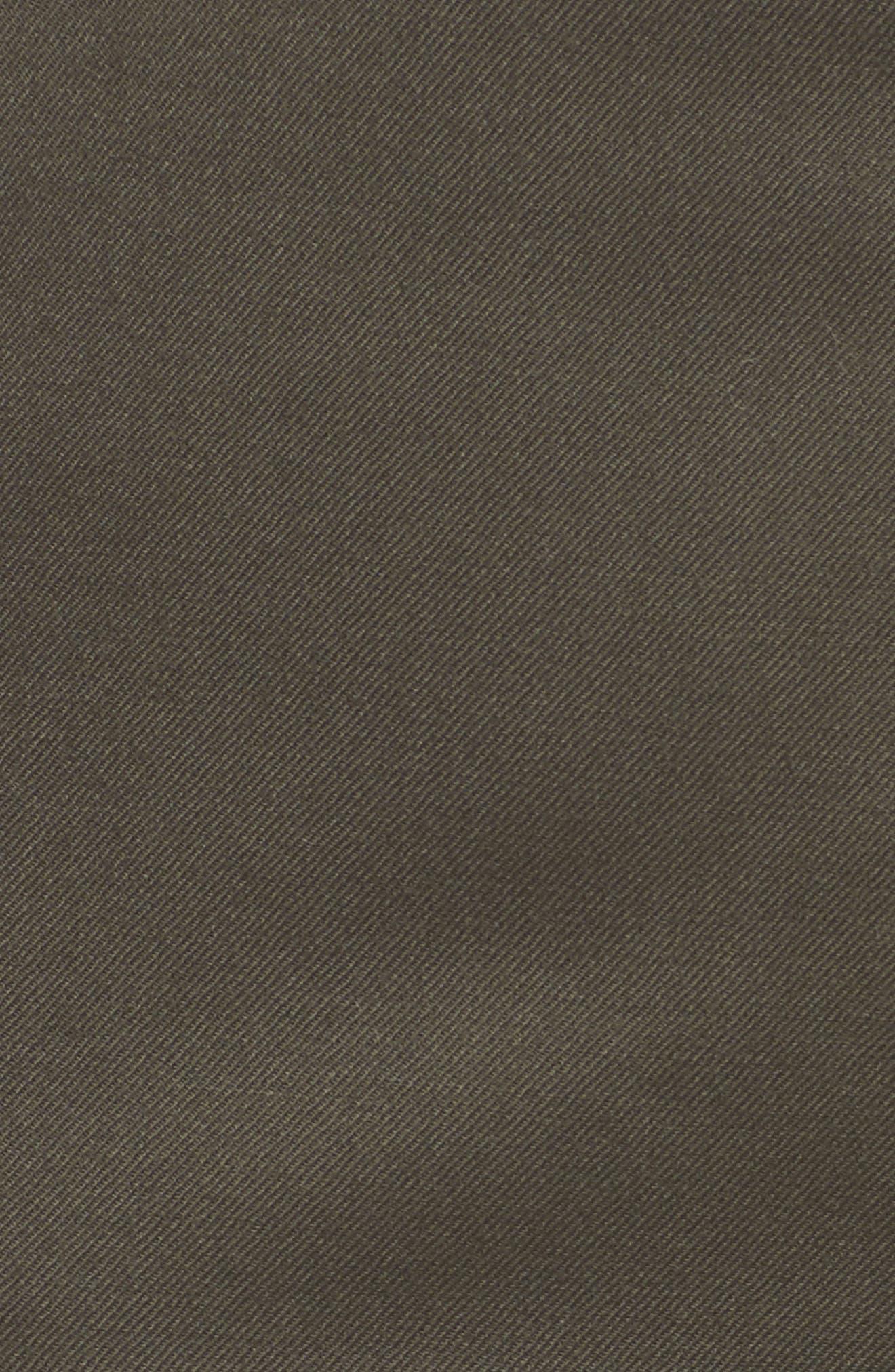 Wide Leg Stretch Wool Pants,                             Alternate thumbnail 5, color,                             311