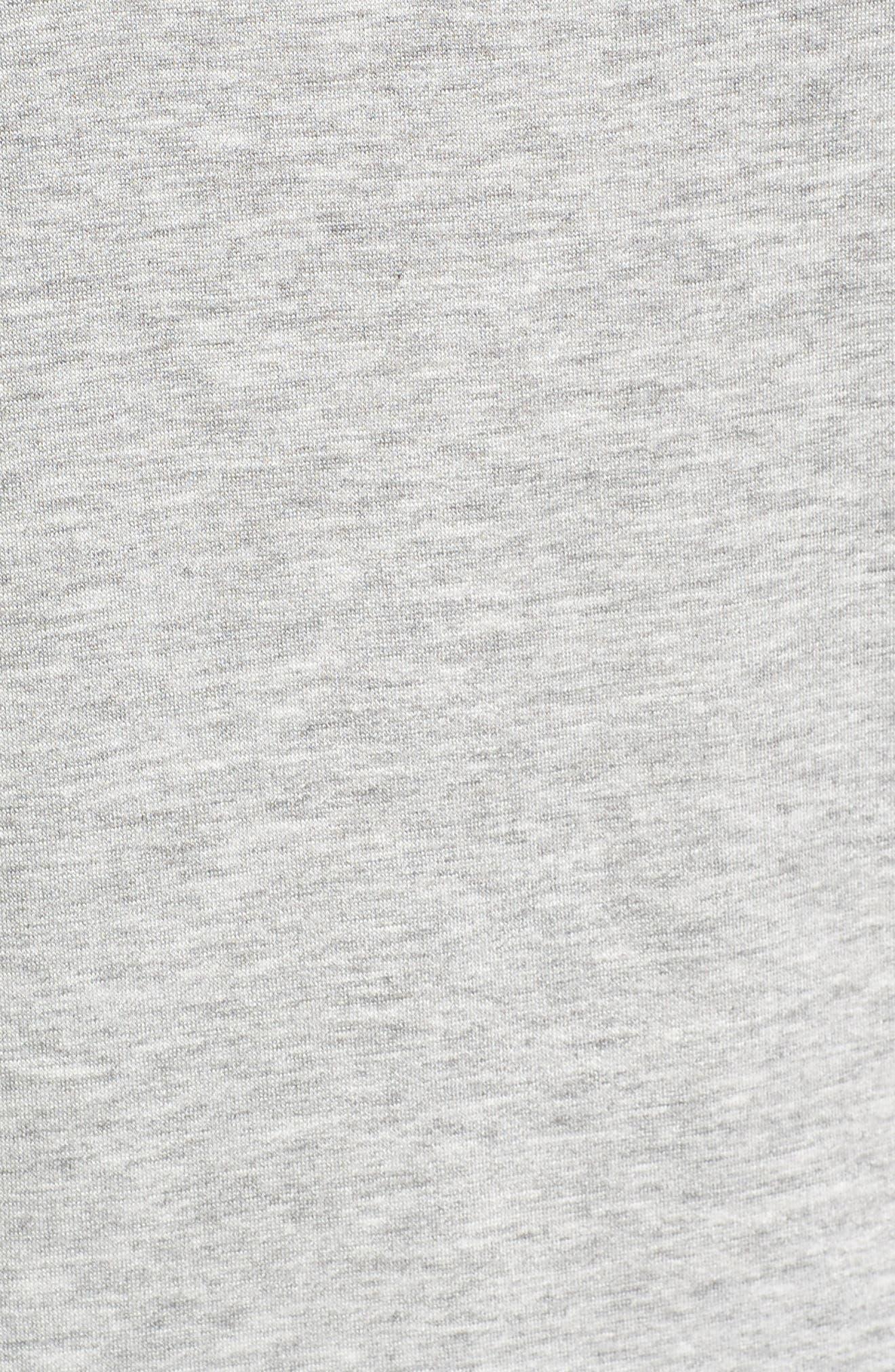 High/Low Cold Shoulder Sweatshirt,                             Alternate thumbnail 17, color,