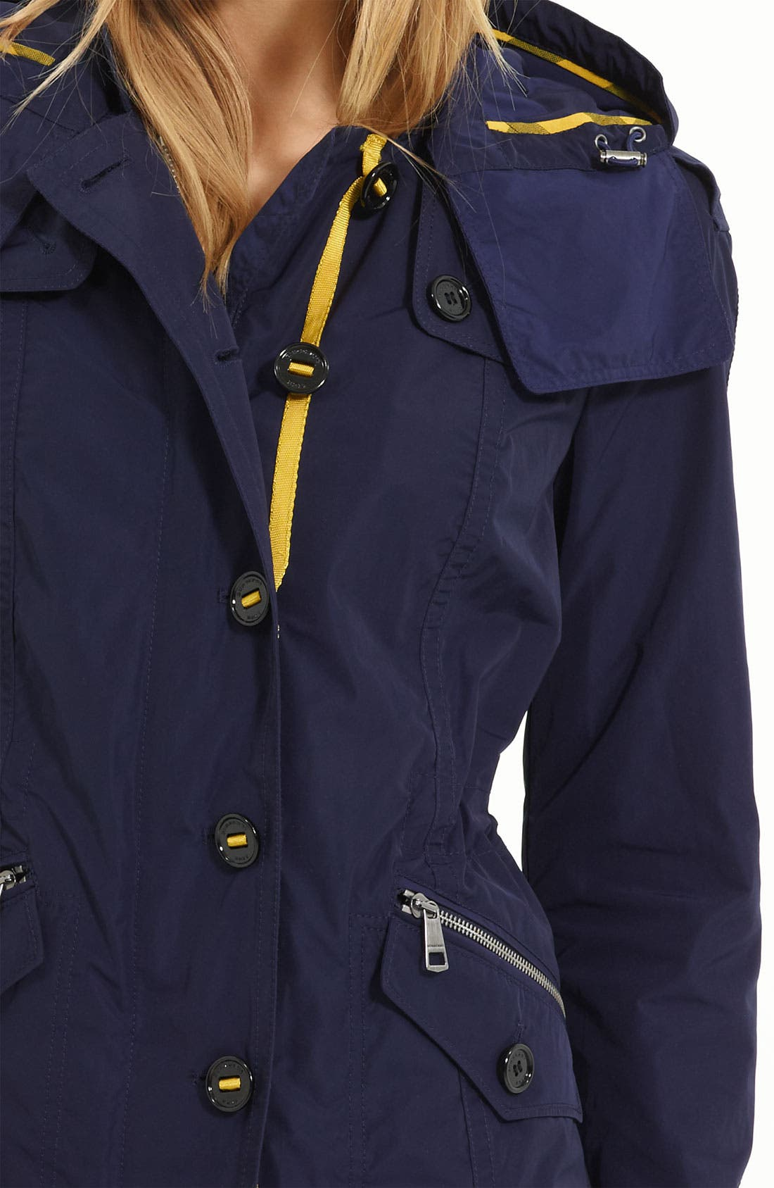 Anorak with Detachable Hood,                             Alternate thumbnail 3, color,                             400
