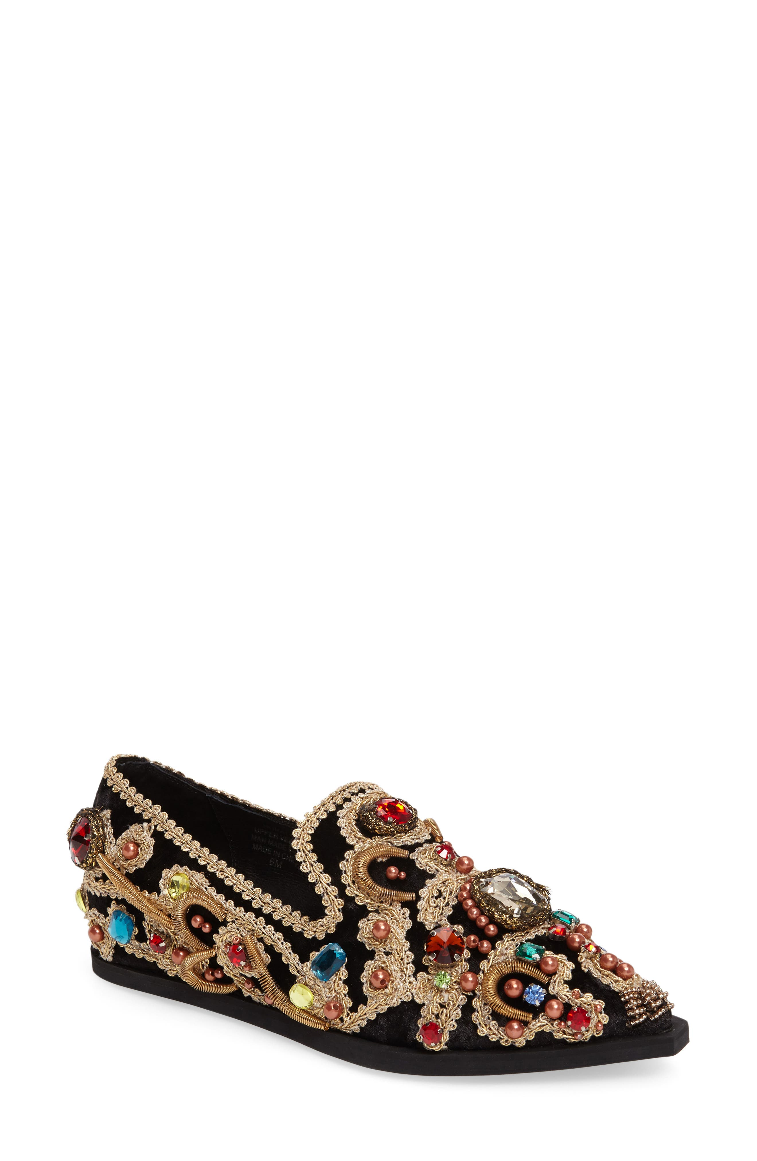 Horatio Venetian Loafer,                         Main,                         color, 001