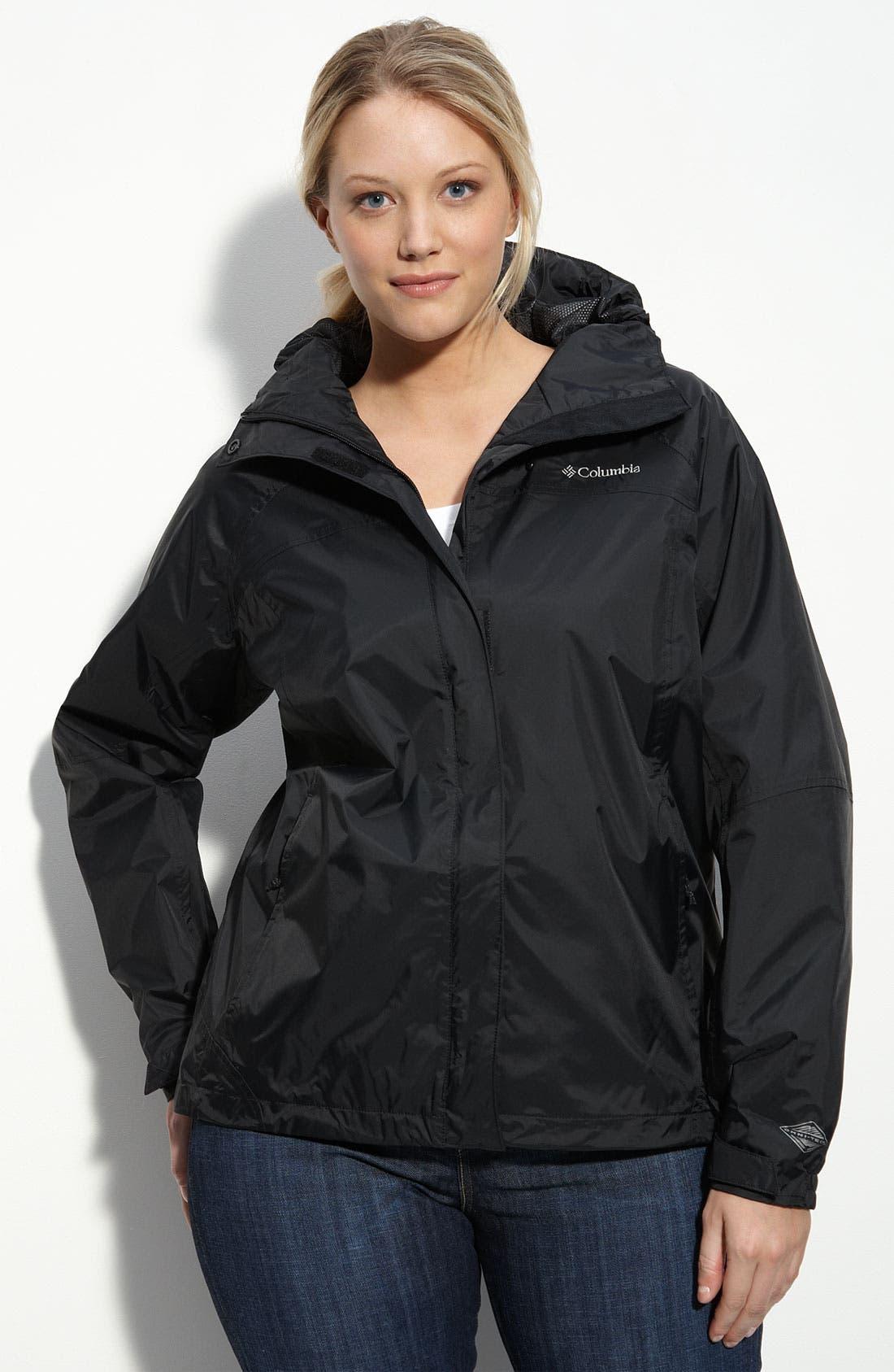 'Arcadia' Rain Jacket, Main, color, 010