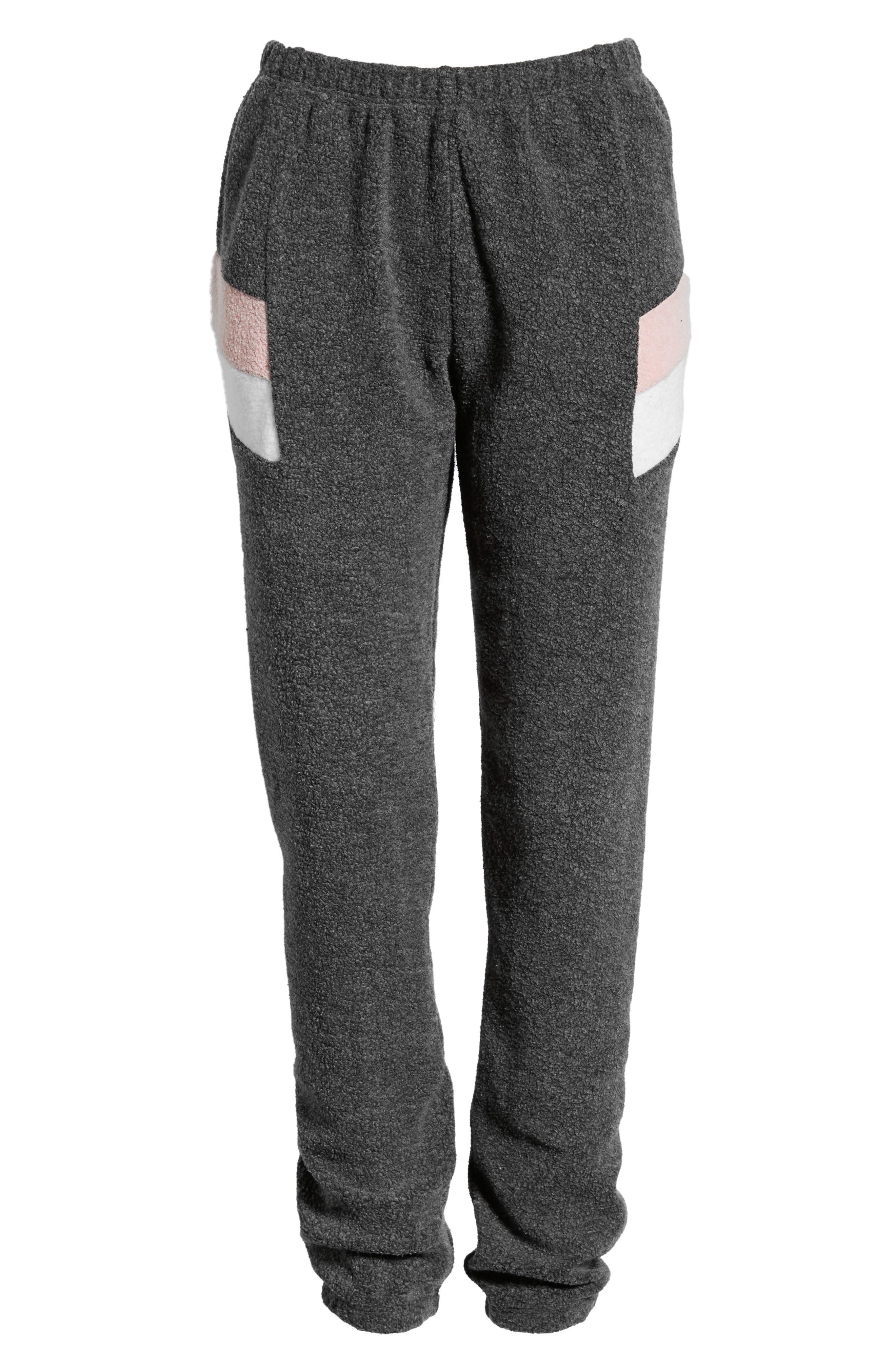 Knox Sweatpants,                             Alternate thumbnail 6, color,                             CLEAN BLACK