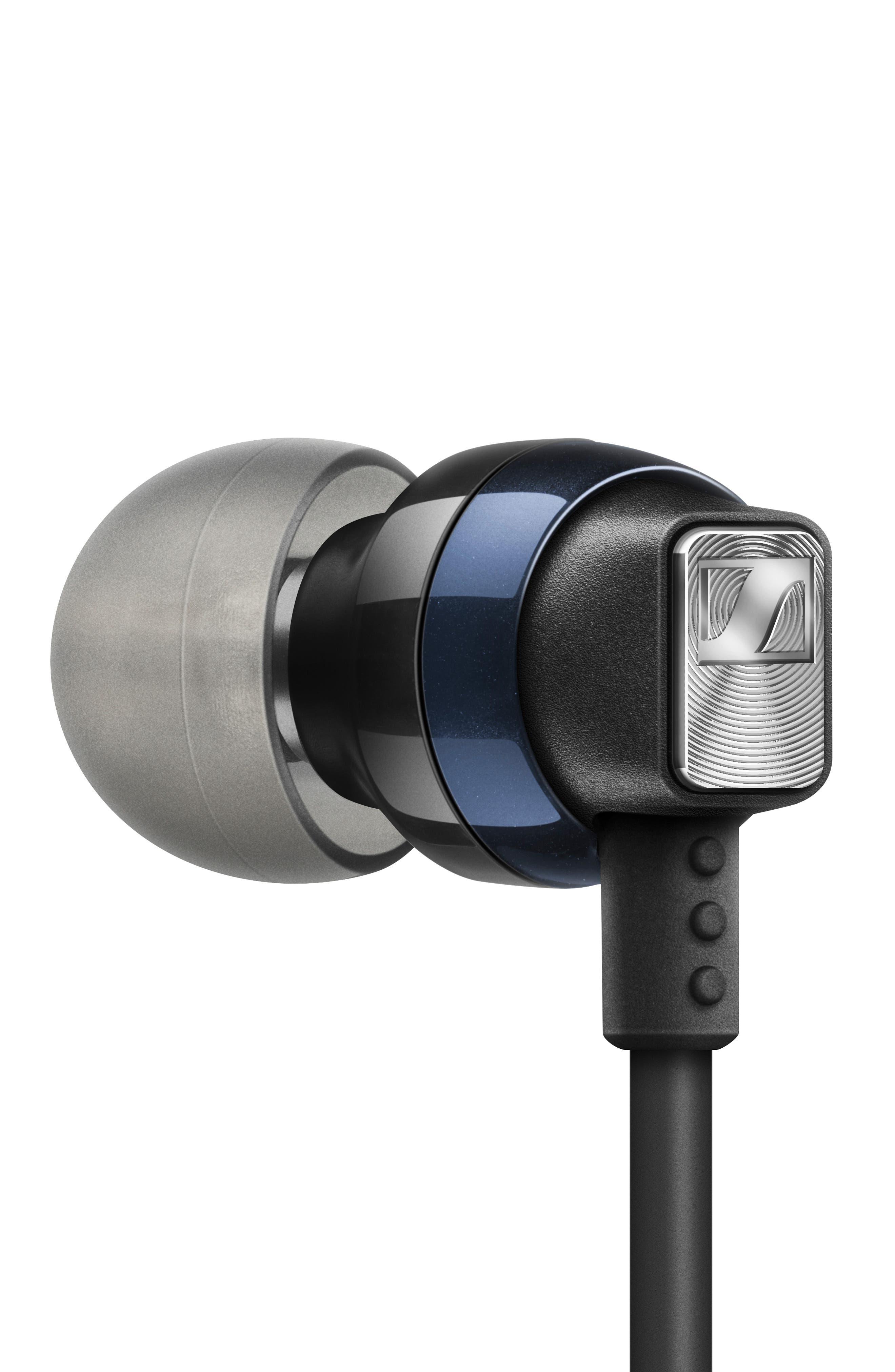 SENNHEISER,                             CX 6.00 Bluetooth<sup>®</sup> Wireless In-Ear Headphones,                             Alternate thumbnail 2, color,                             BLACK/ BLUE