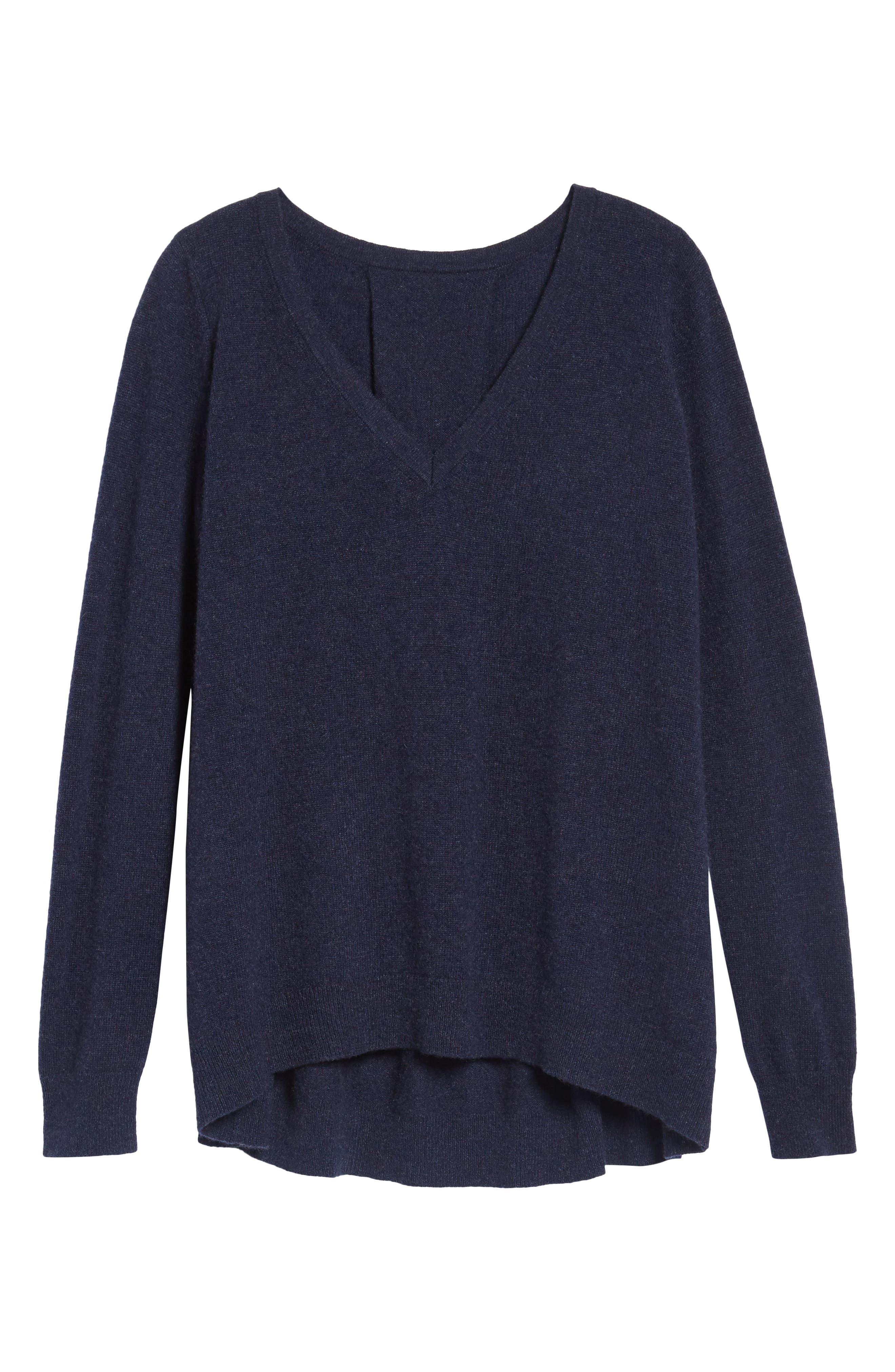 Danielle Cashmere Sweater,                             Alternate thumbnail 6, color,                             410