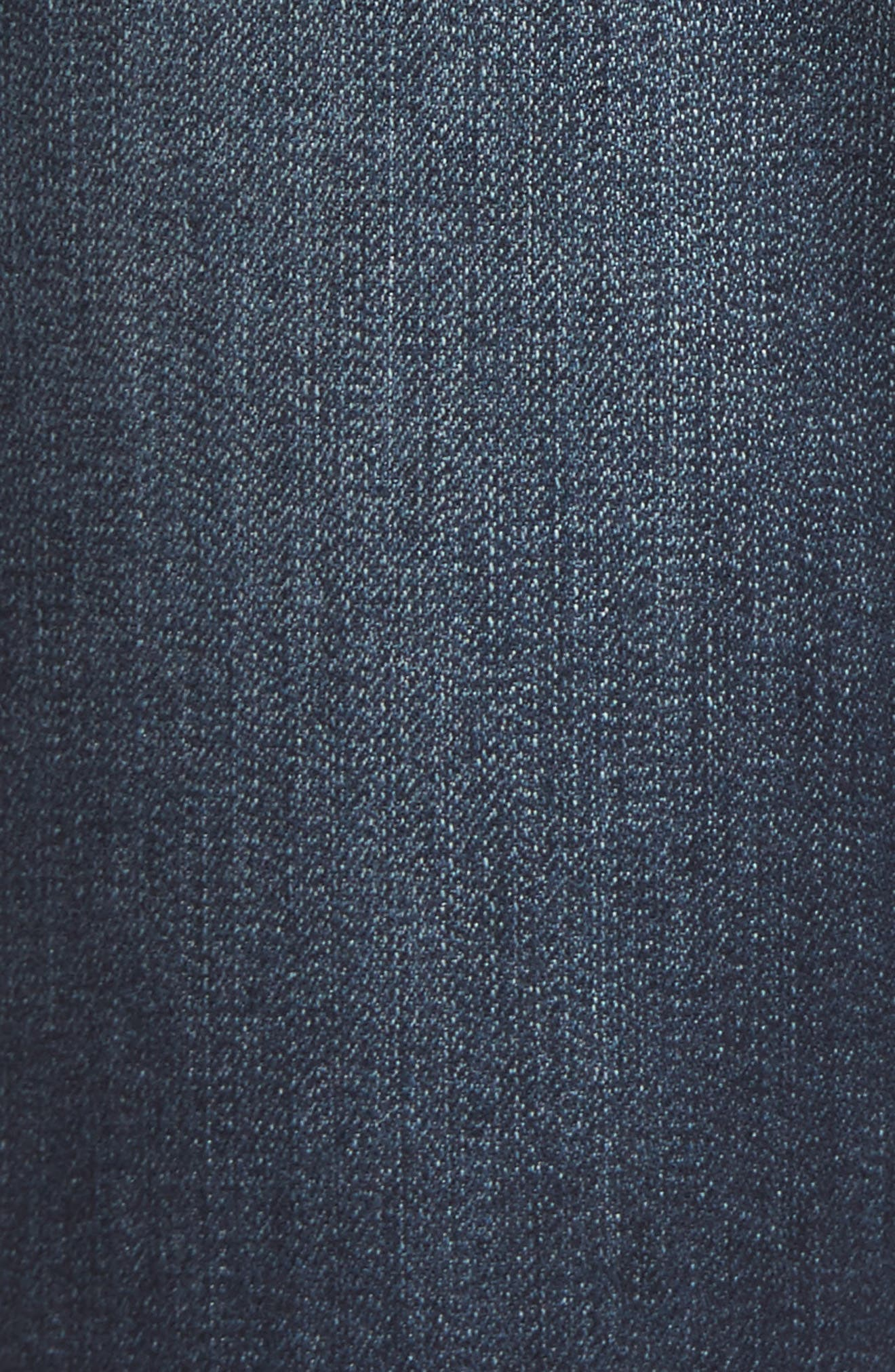 Maternity Ankle Skinny Jeans,                             Alternate thumbnail 5, color,                             LENNOX