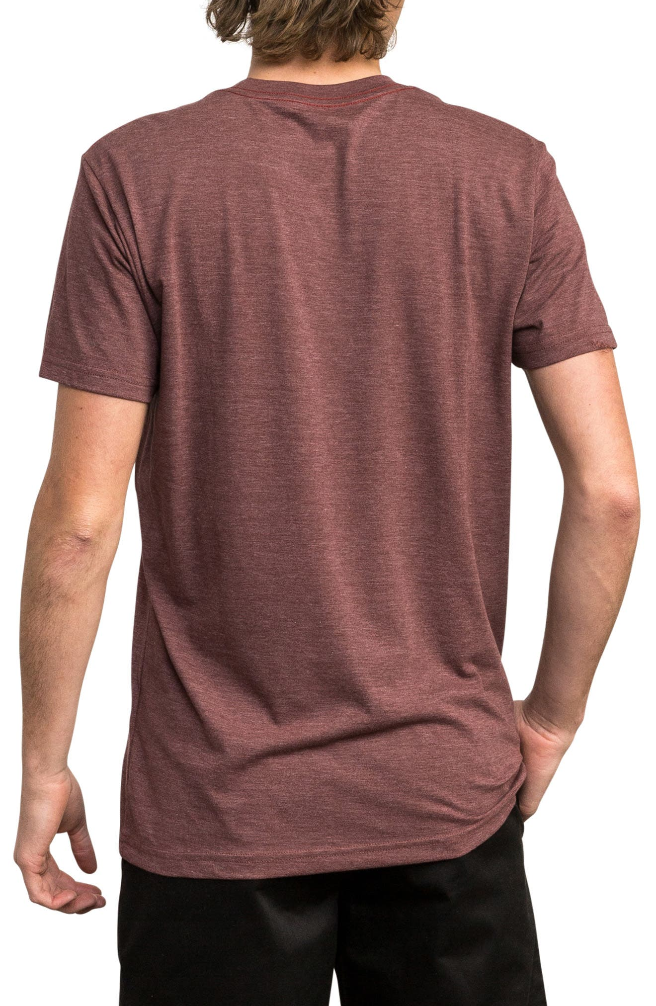 Pinner All the Way Graphic T-Shirt,                             Alternate thumbnail 2, color,                             BORDEAUX