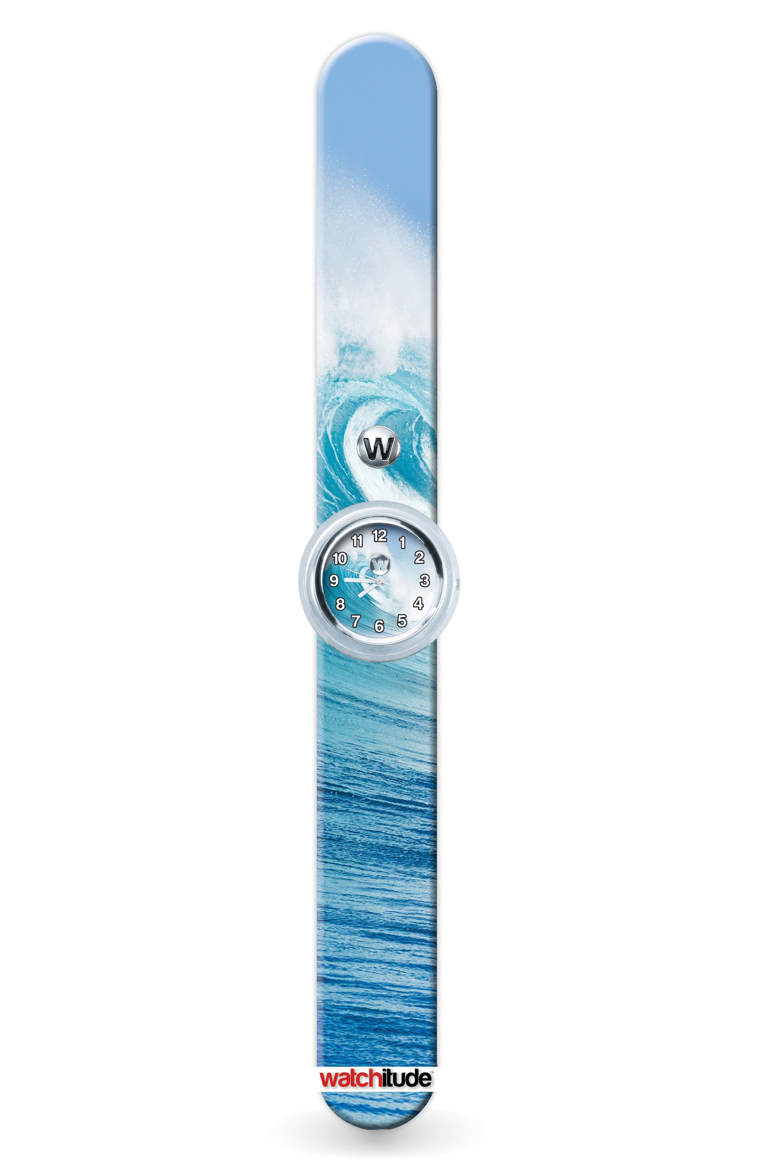 Wave Shredder Slap Watch,                         Main,                         color, 400