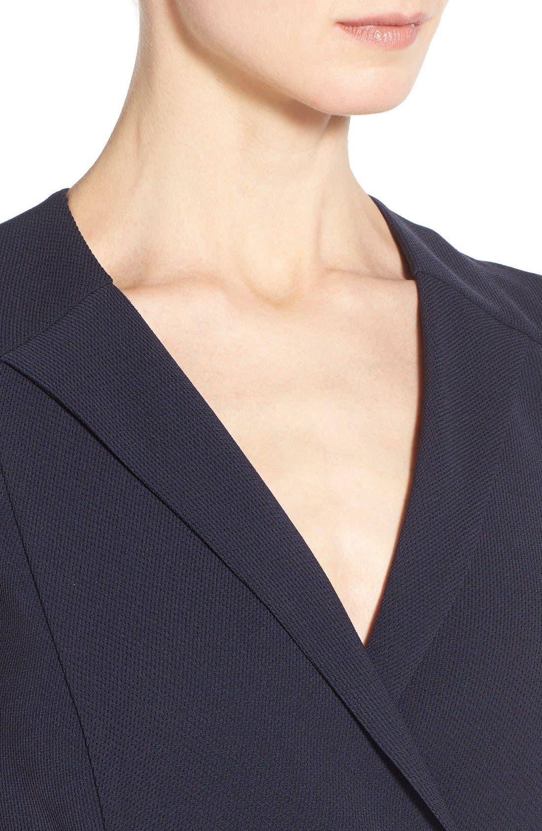 'Damarine' V-Neck Sleeveless Tuxedo Dress,                             Alternate thumbnail 2, color,                             411