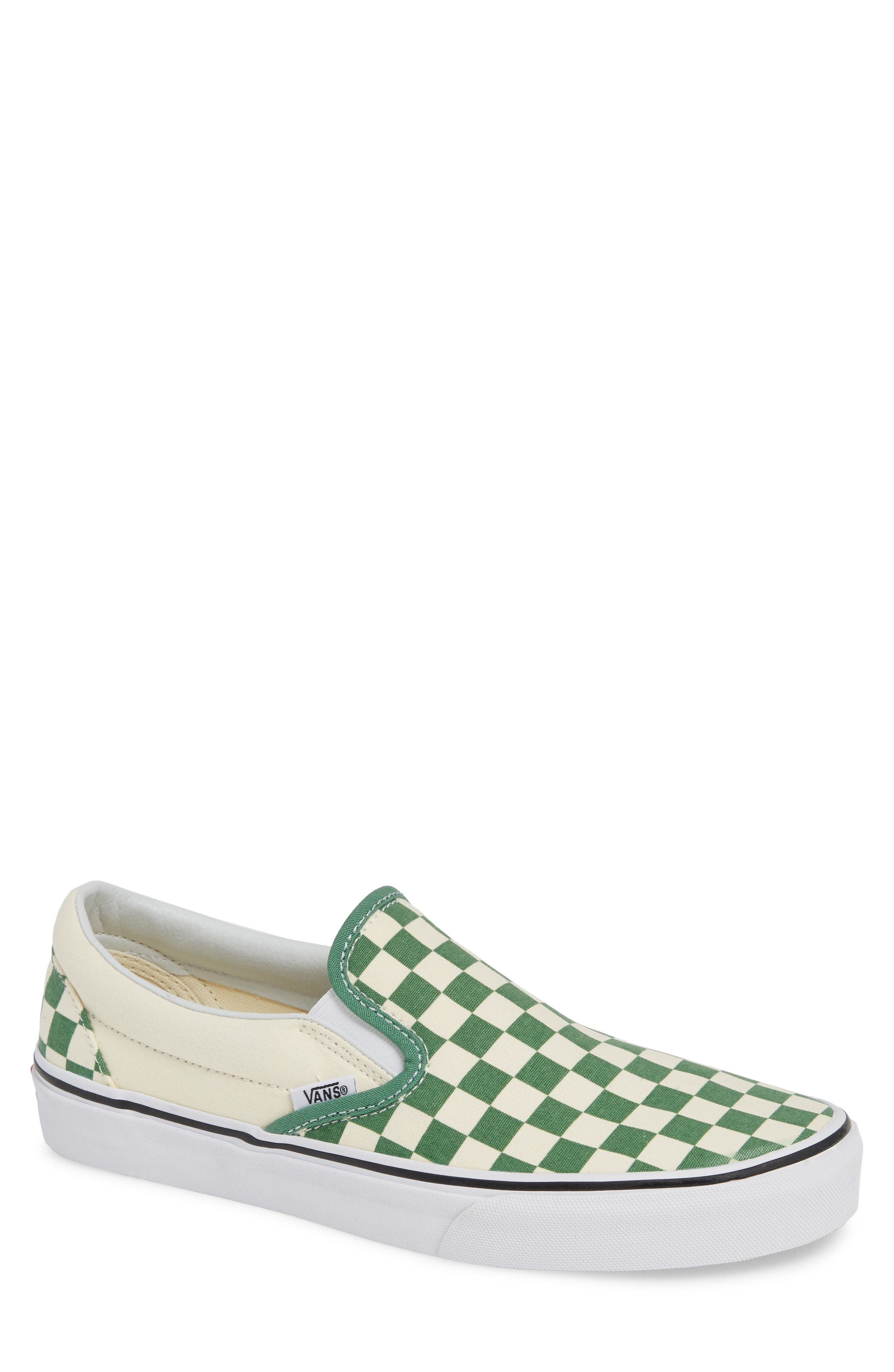 Classic Slip-On,                             Main thumbnail 1, color,                             DEEP GRASS GREEN