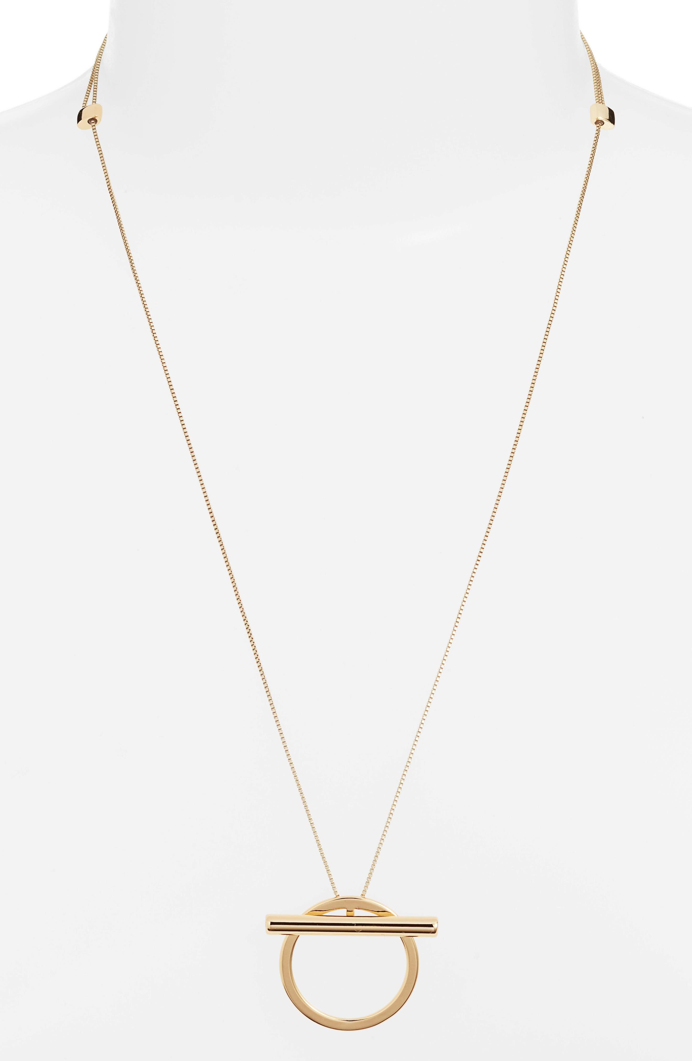 JENNY BIRD Trust Pendant Necklace in Gold